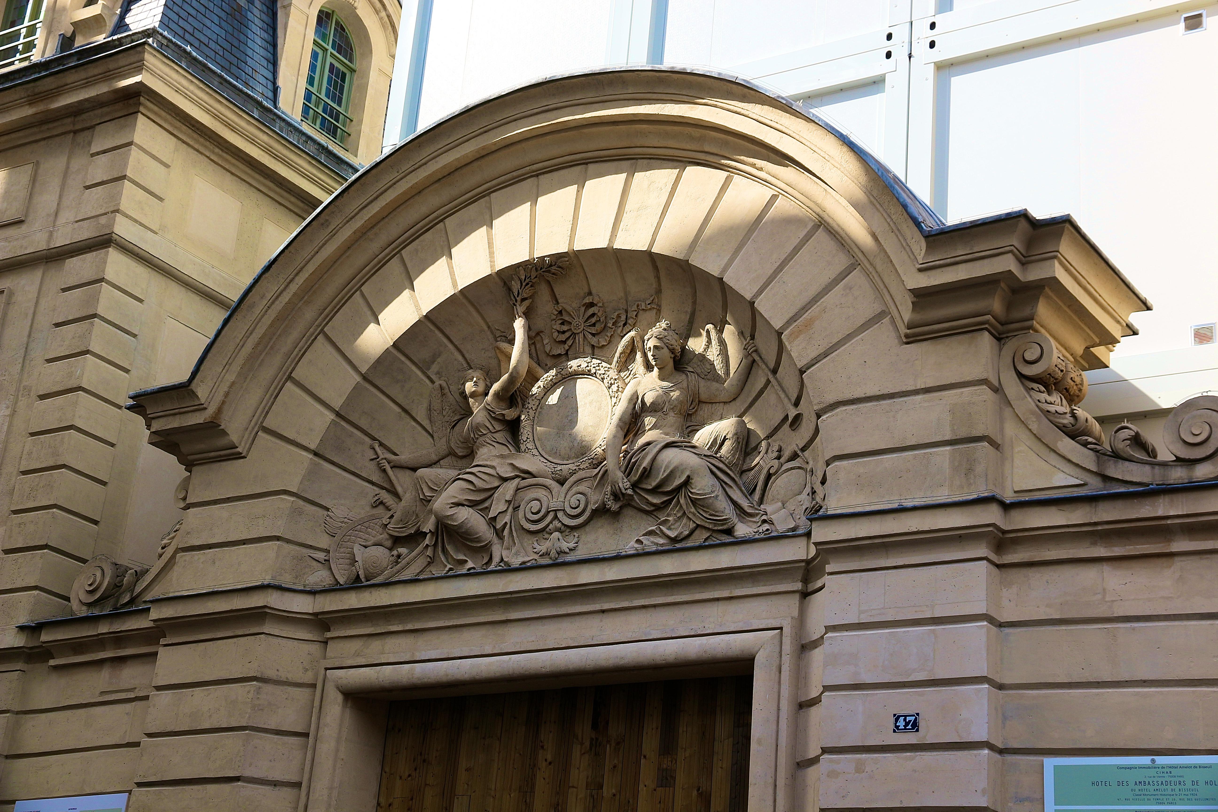 l'Hôtel Amelot-de-Bisseuil