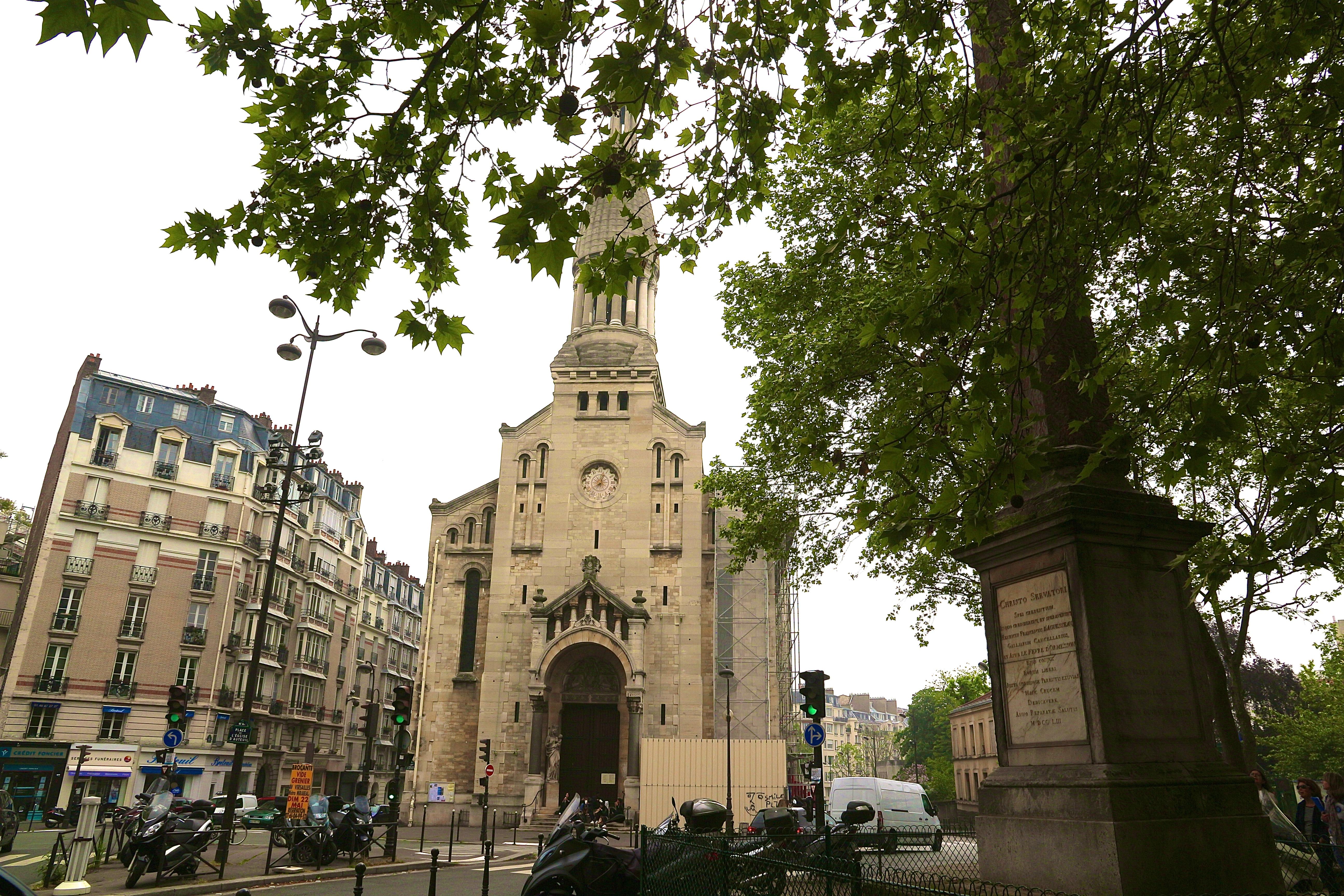 l'Église Notre-Dame d'Auteuil