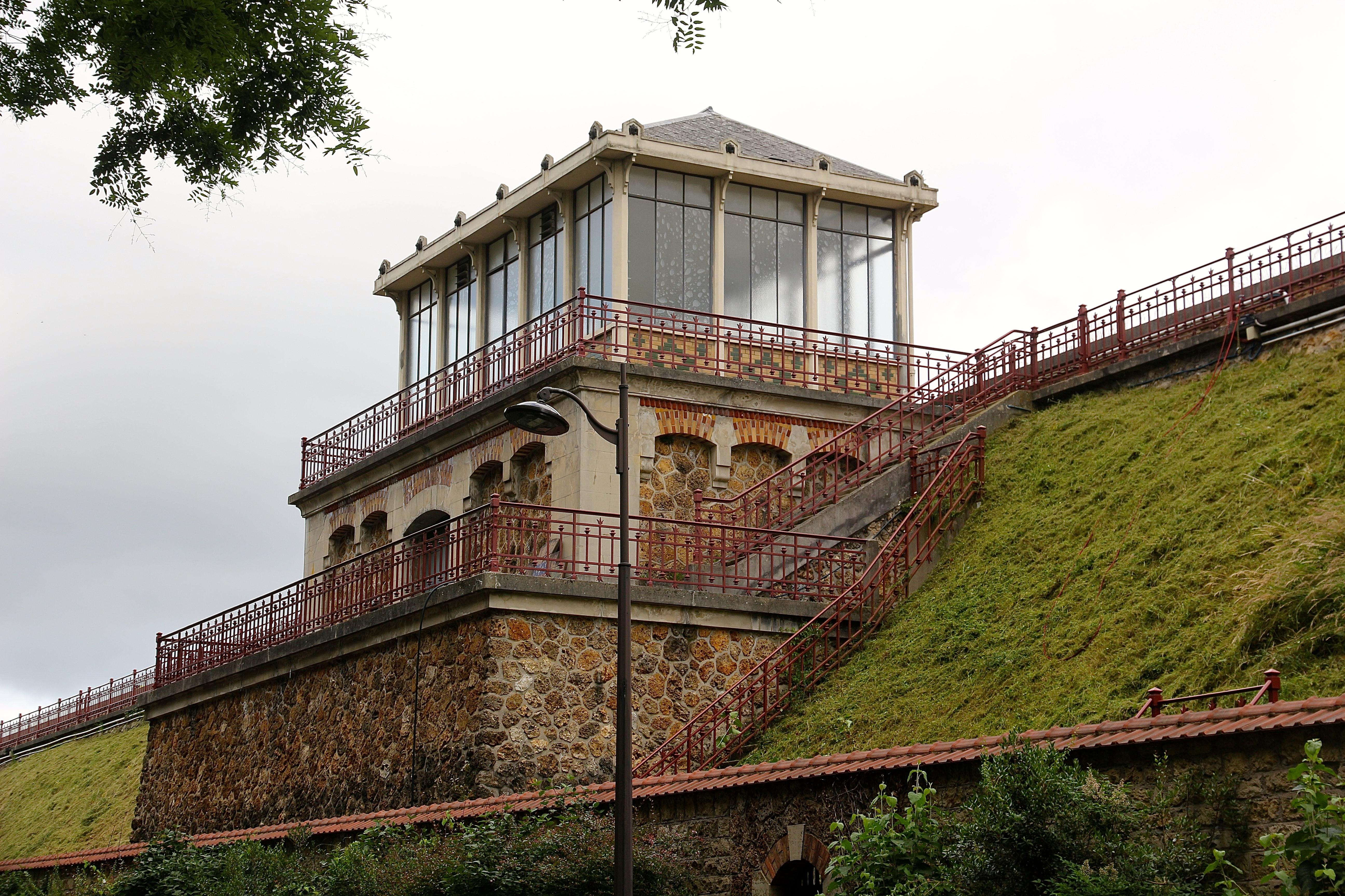 le réservoir Montsouris