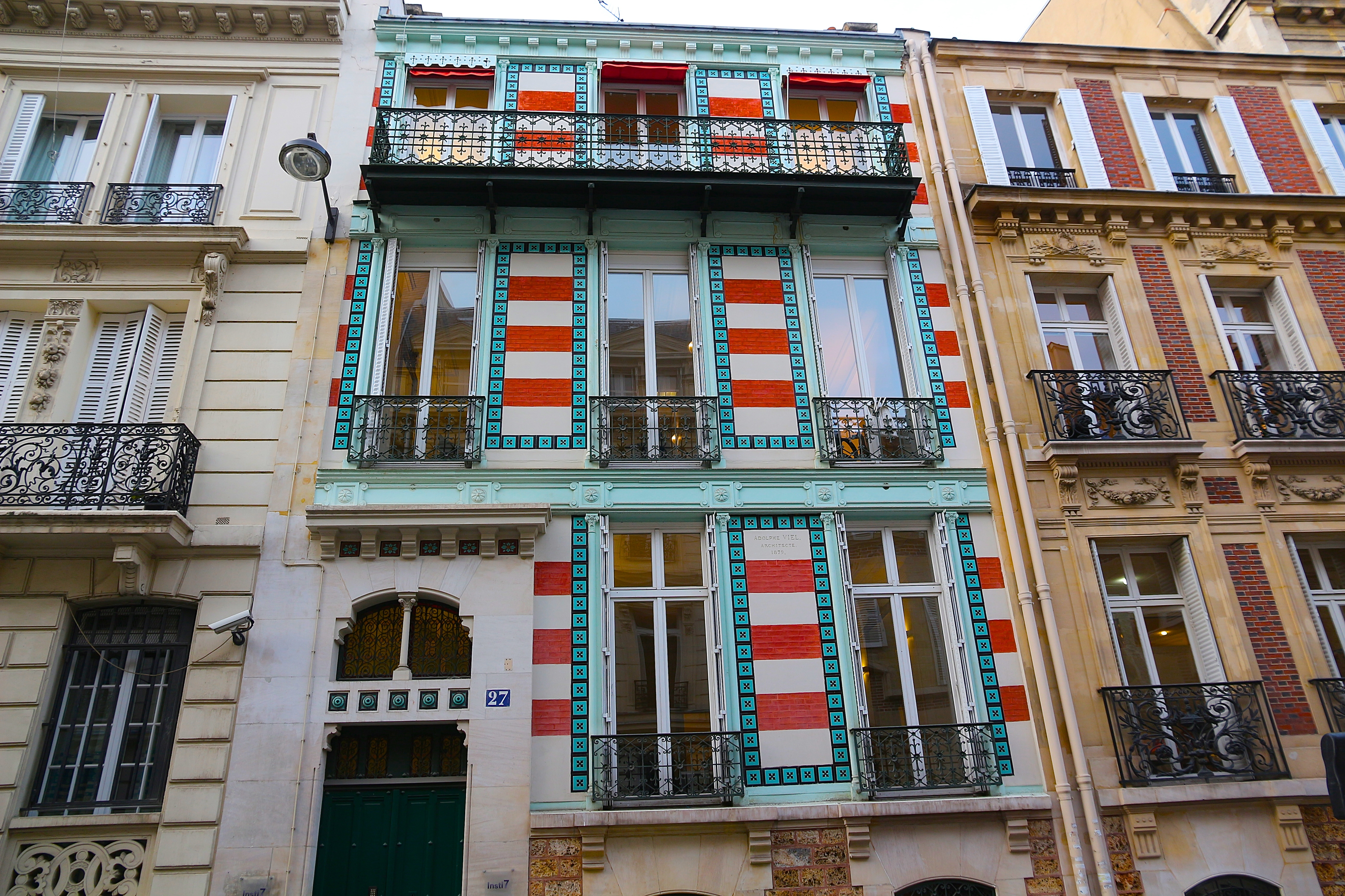 "l'Hôtel de Caroline ""la Belle"" Otero"