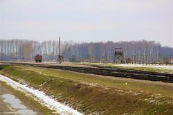 Birkenau, le quai de débarquement