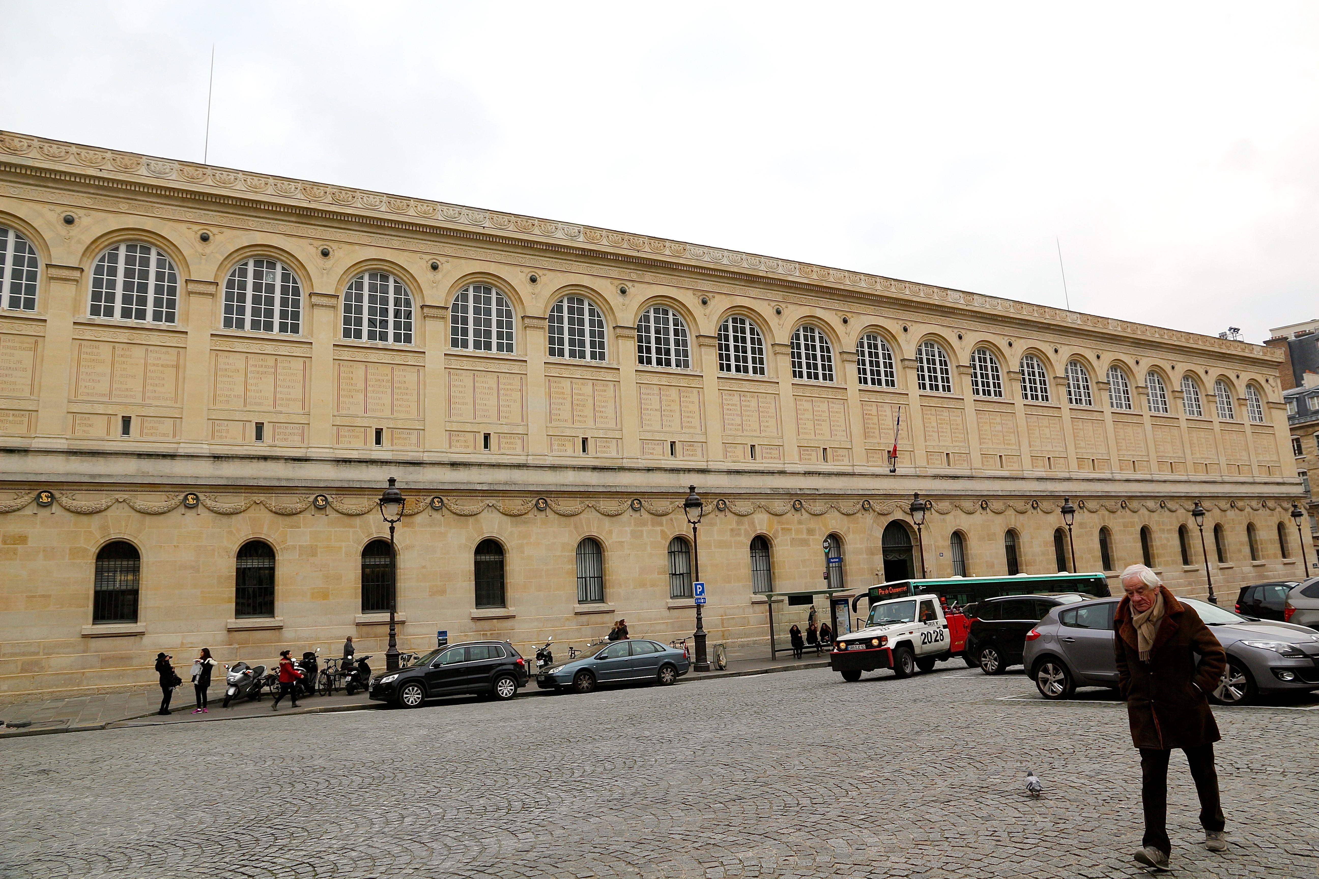 la Bibliothèque Sainte-Geneviève