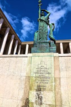 le monument de la France Libre
