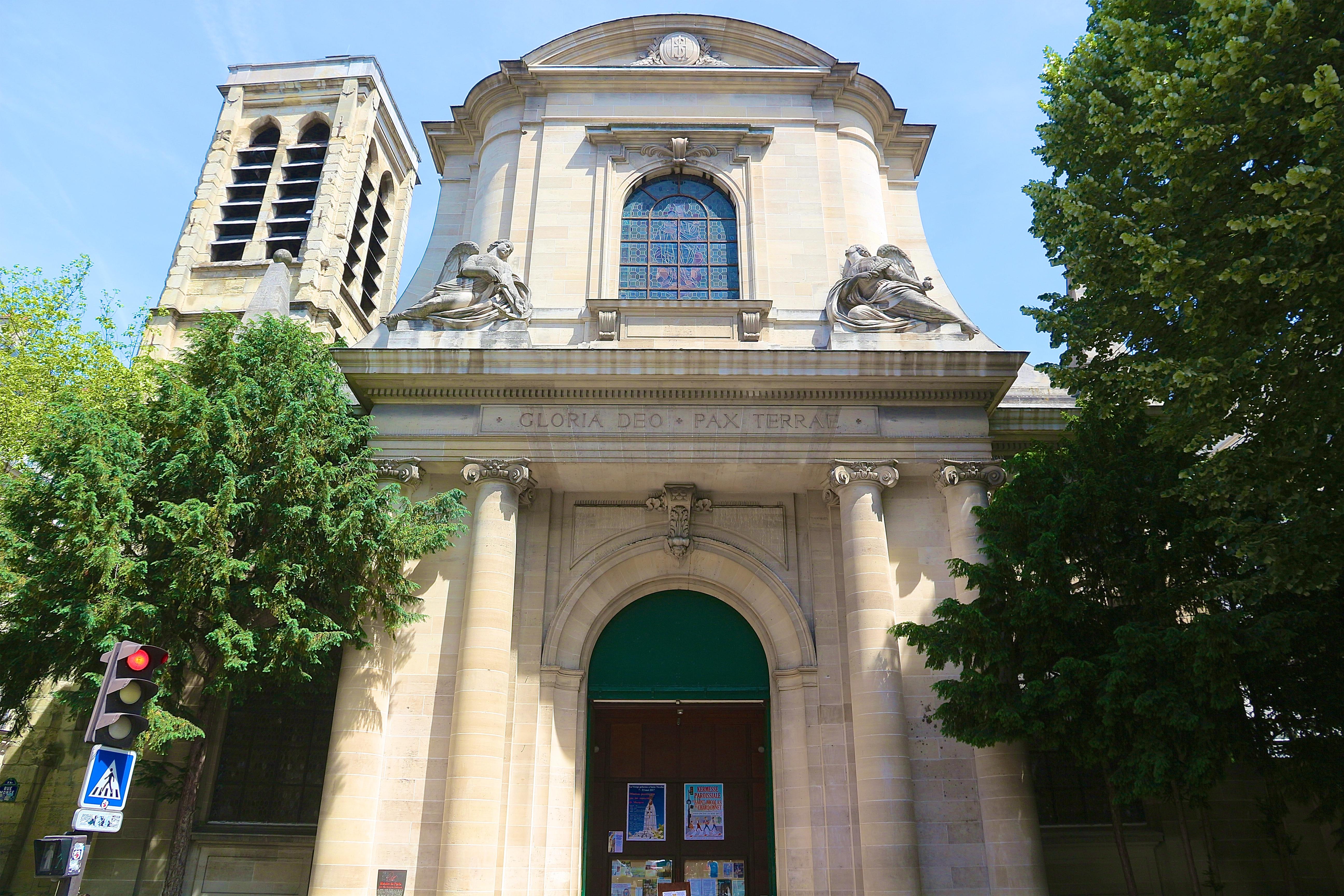 l'église Saint-Nicolas-du-Chardonnet