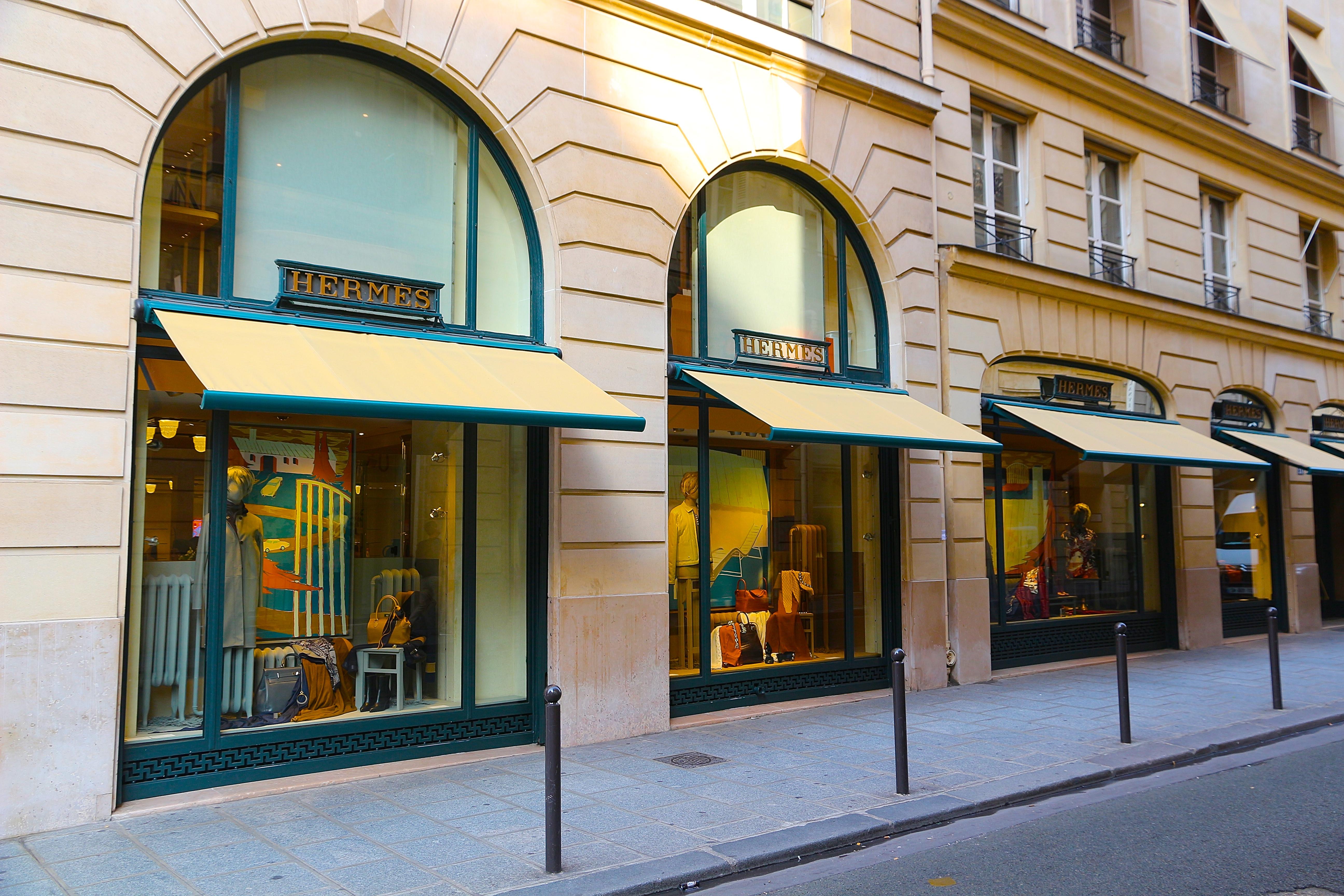 la boutique Hermès