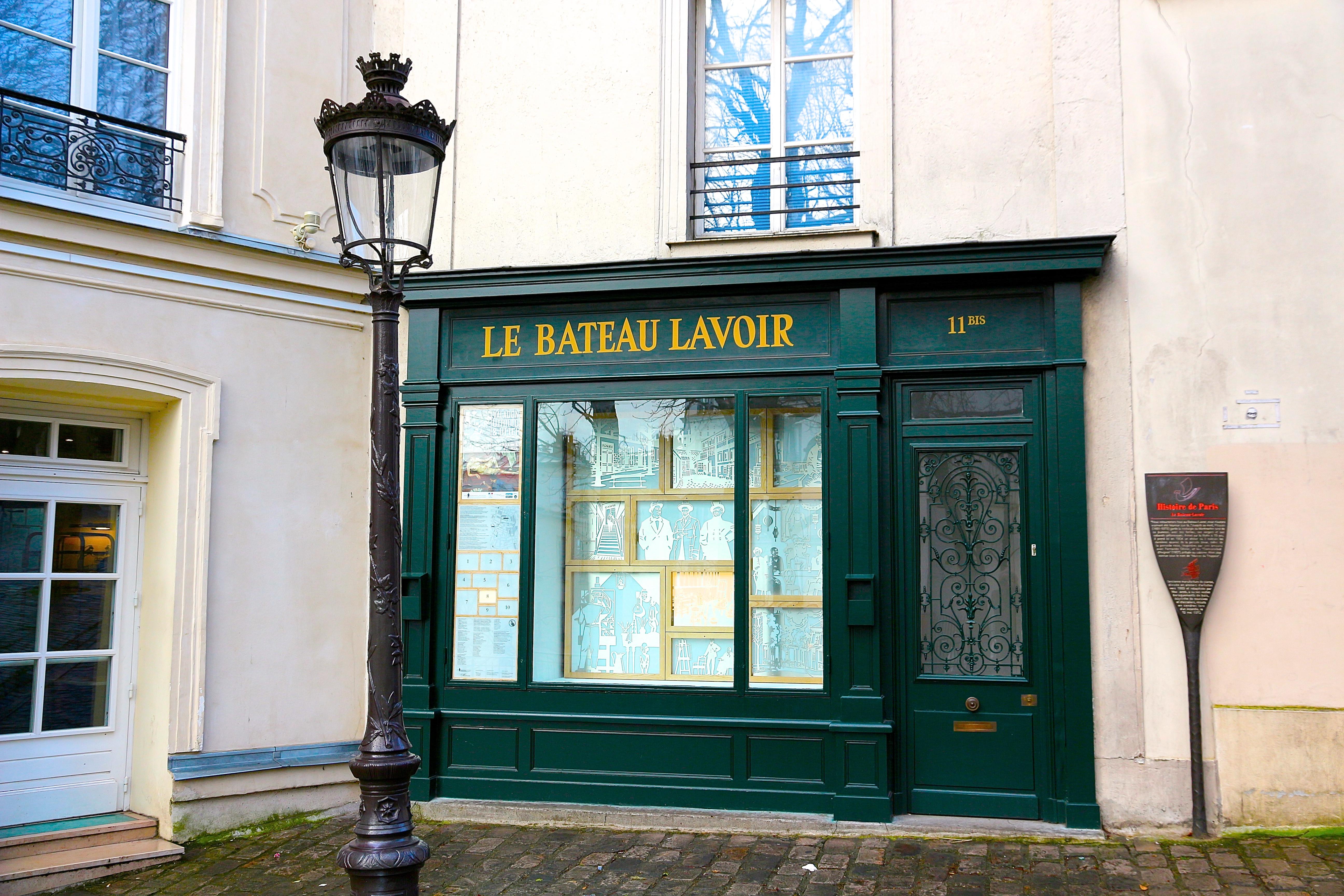 """le """"Bateau-Lavoir"""""""