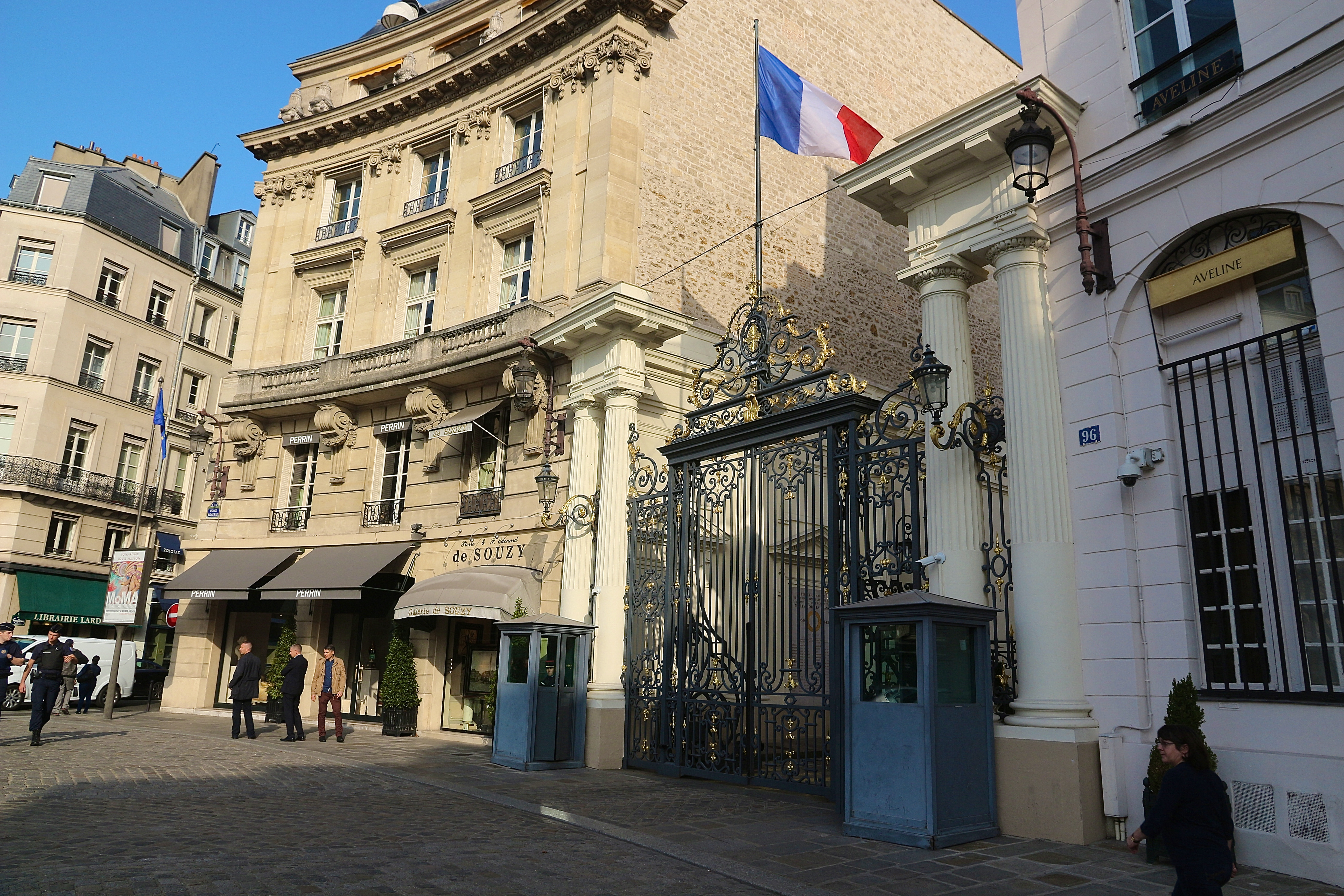 l'Hôtel de Beauvau