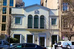 "le restaurant ""Lasserre"""