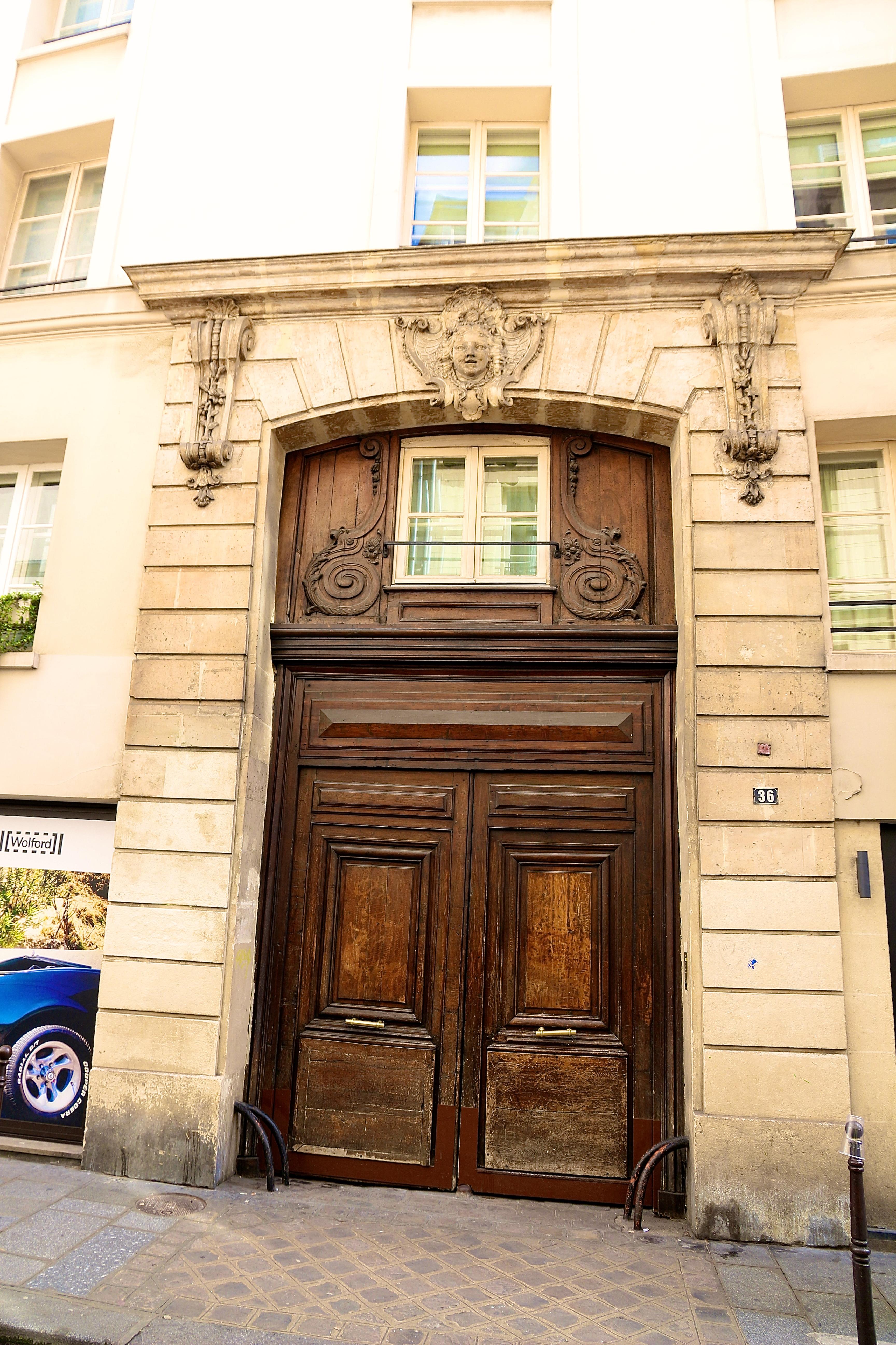 un beau portail