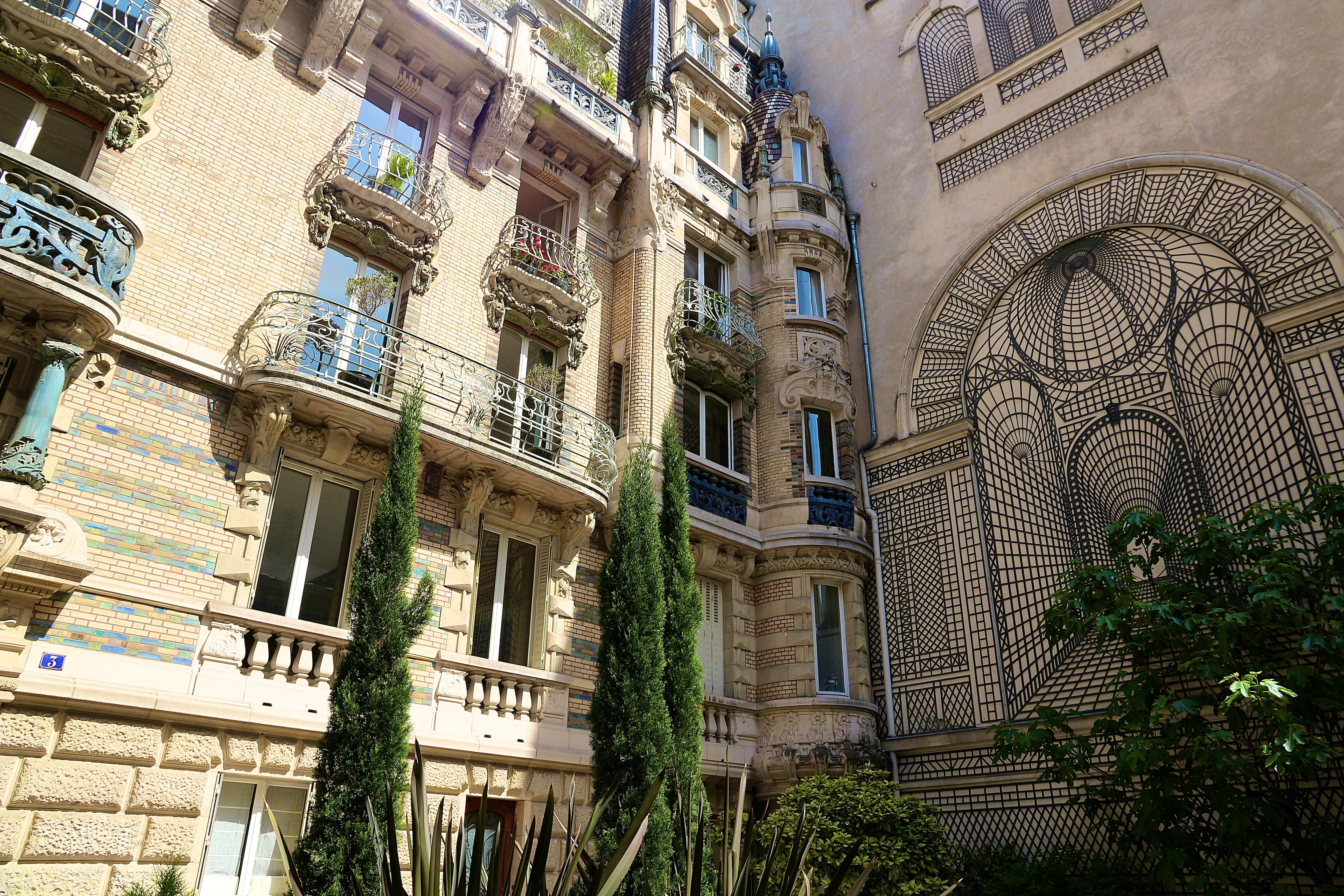 l'immeuble Jules Lavirotte