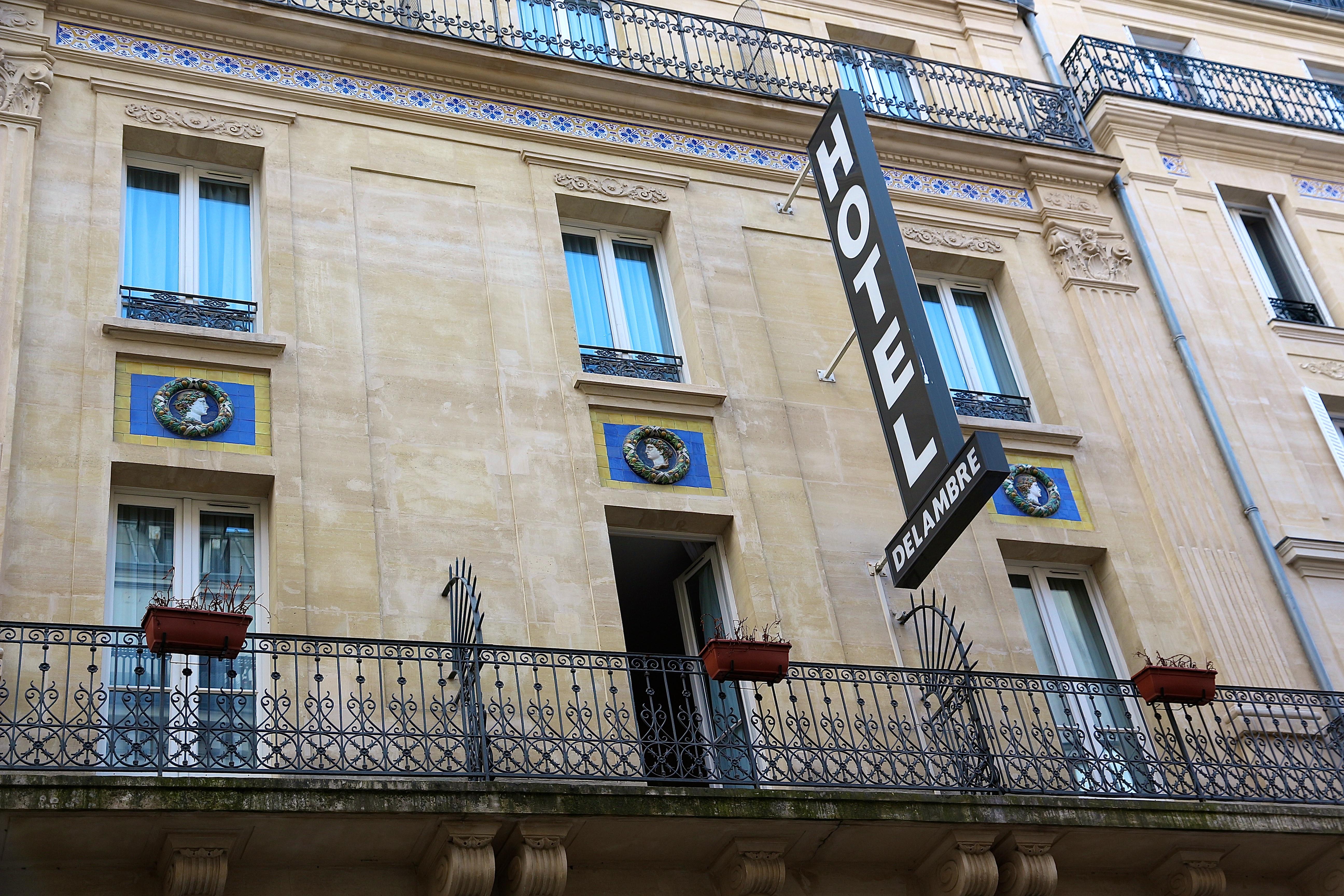 l'hôtel Delambre