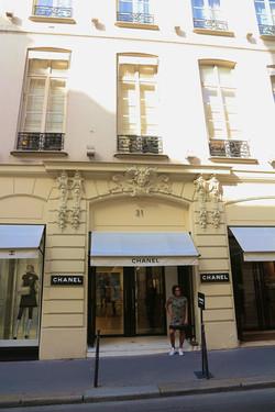 la première boutique Chanel