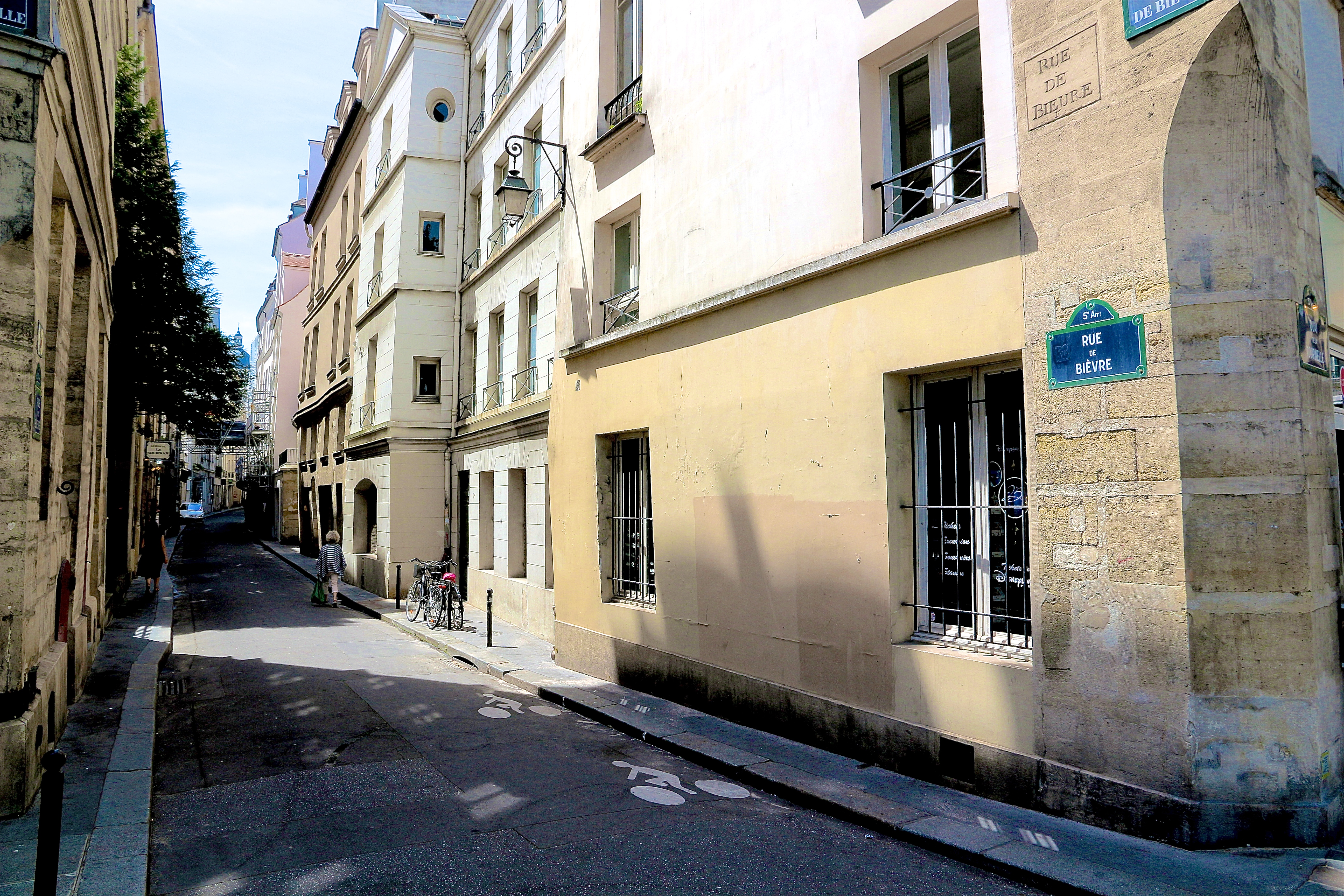 la rue de Bièvre