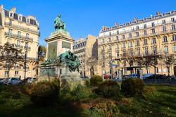 le Monument à Alexandre Dumas père
