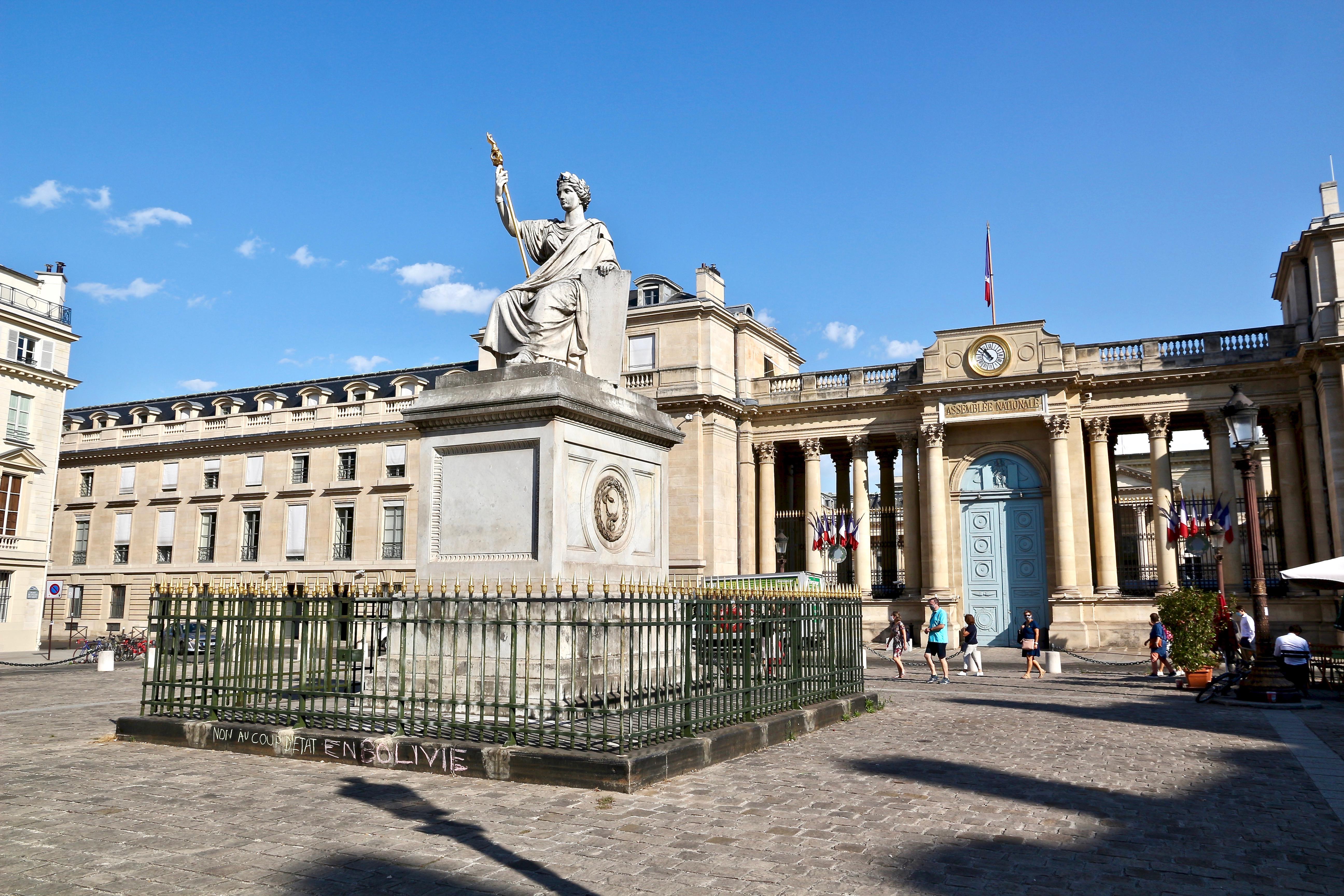la place du Palais-Bourbon