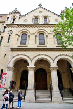 l'église Saint-Charles-de-Monceau