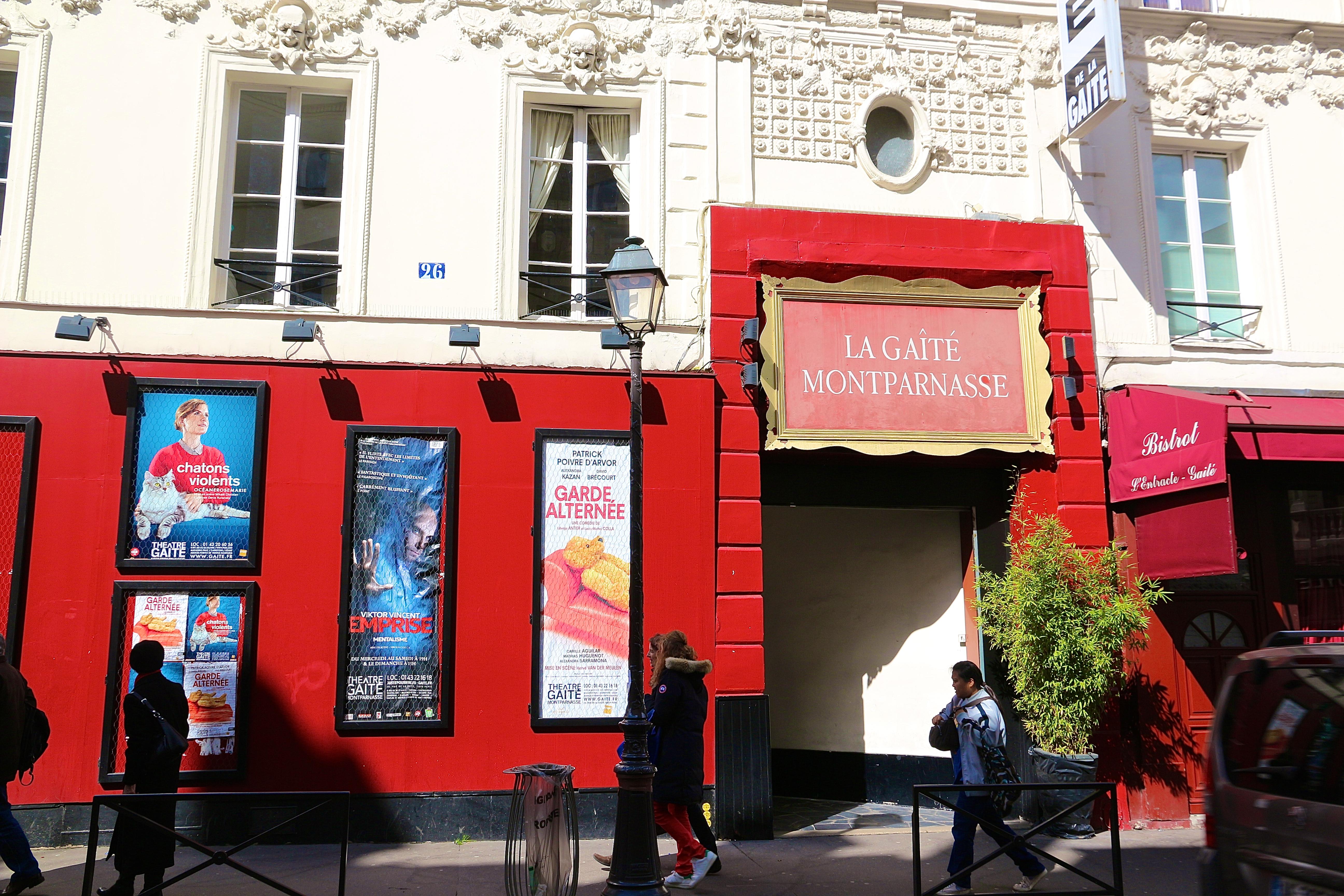 le théâtre de la Gaîté-Montparnasse
