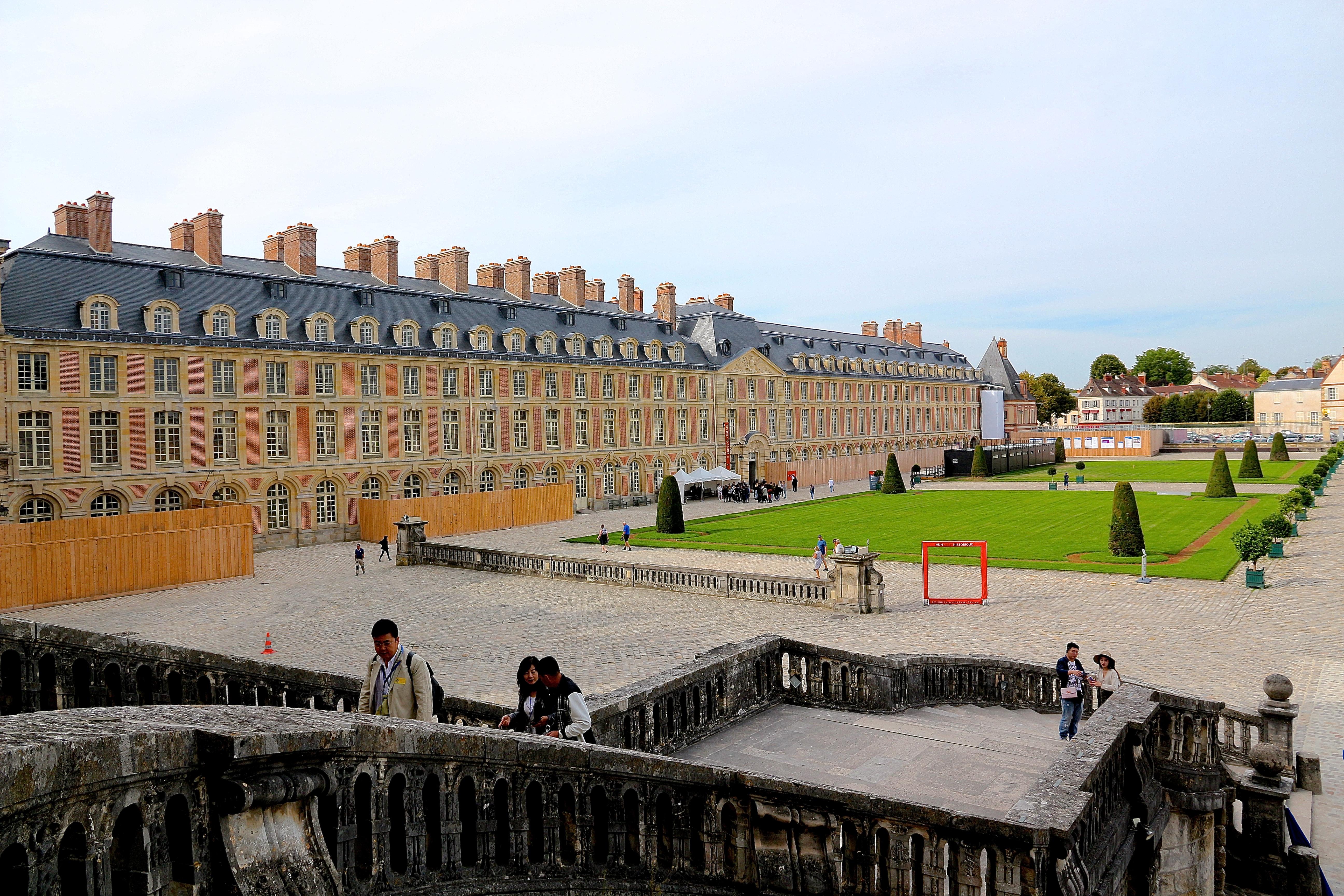 la cour du Cheval Blanc