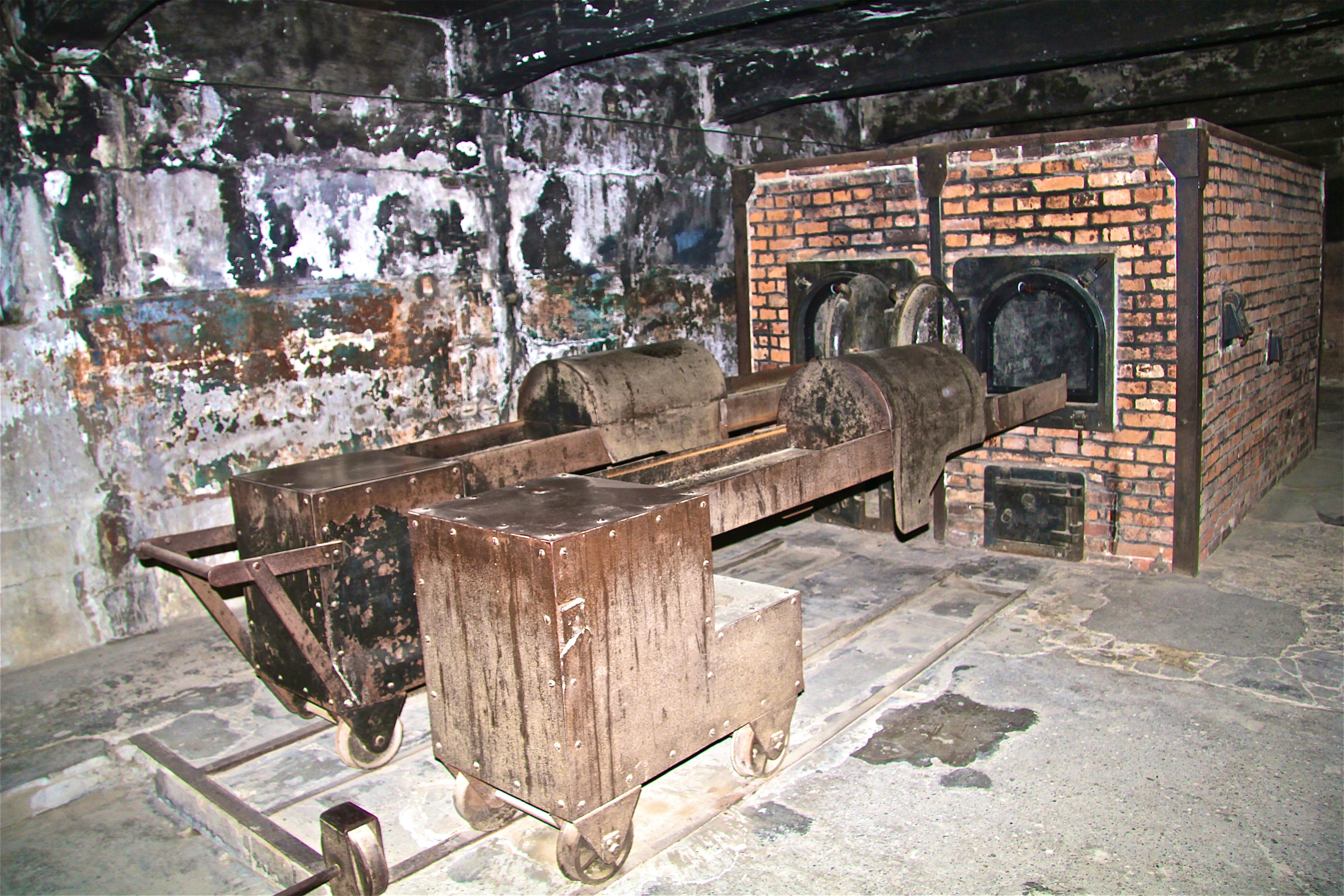 Auschwitz, les crématoires