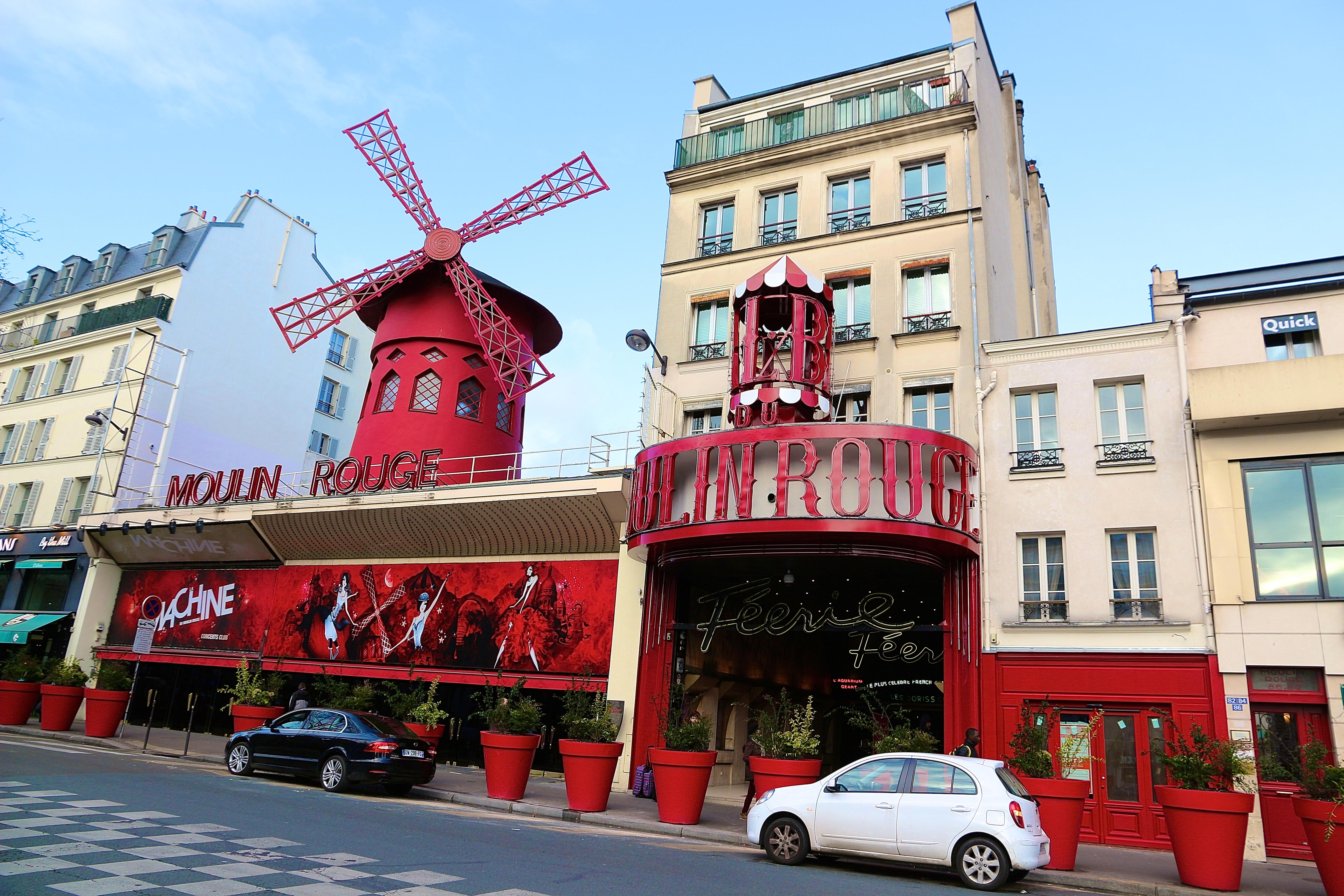 """le """"Moulin Rouge"""""""