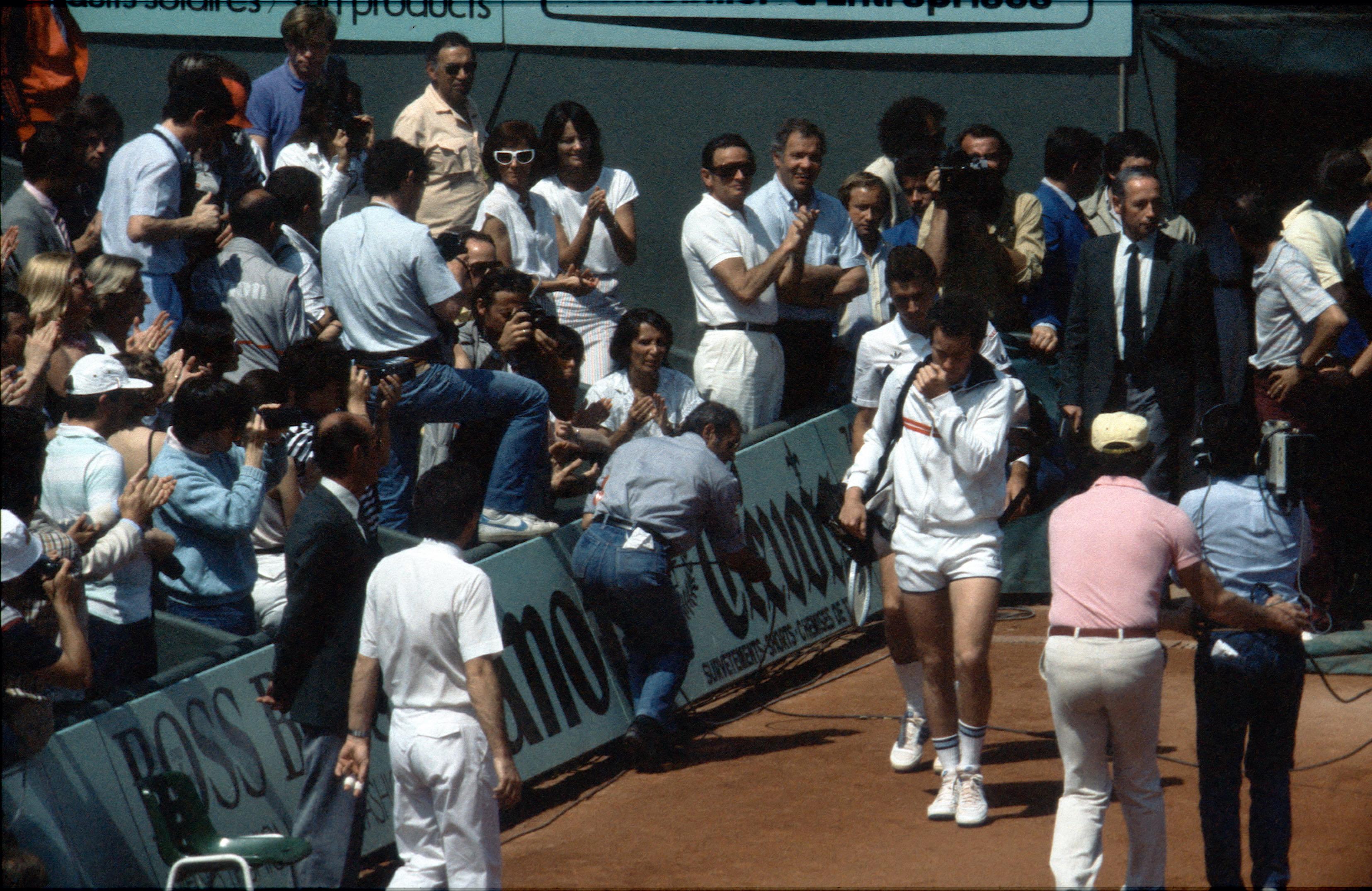 Ivan Lendl et John McEnroe