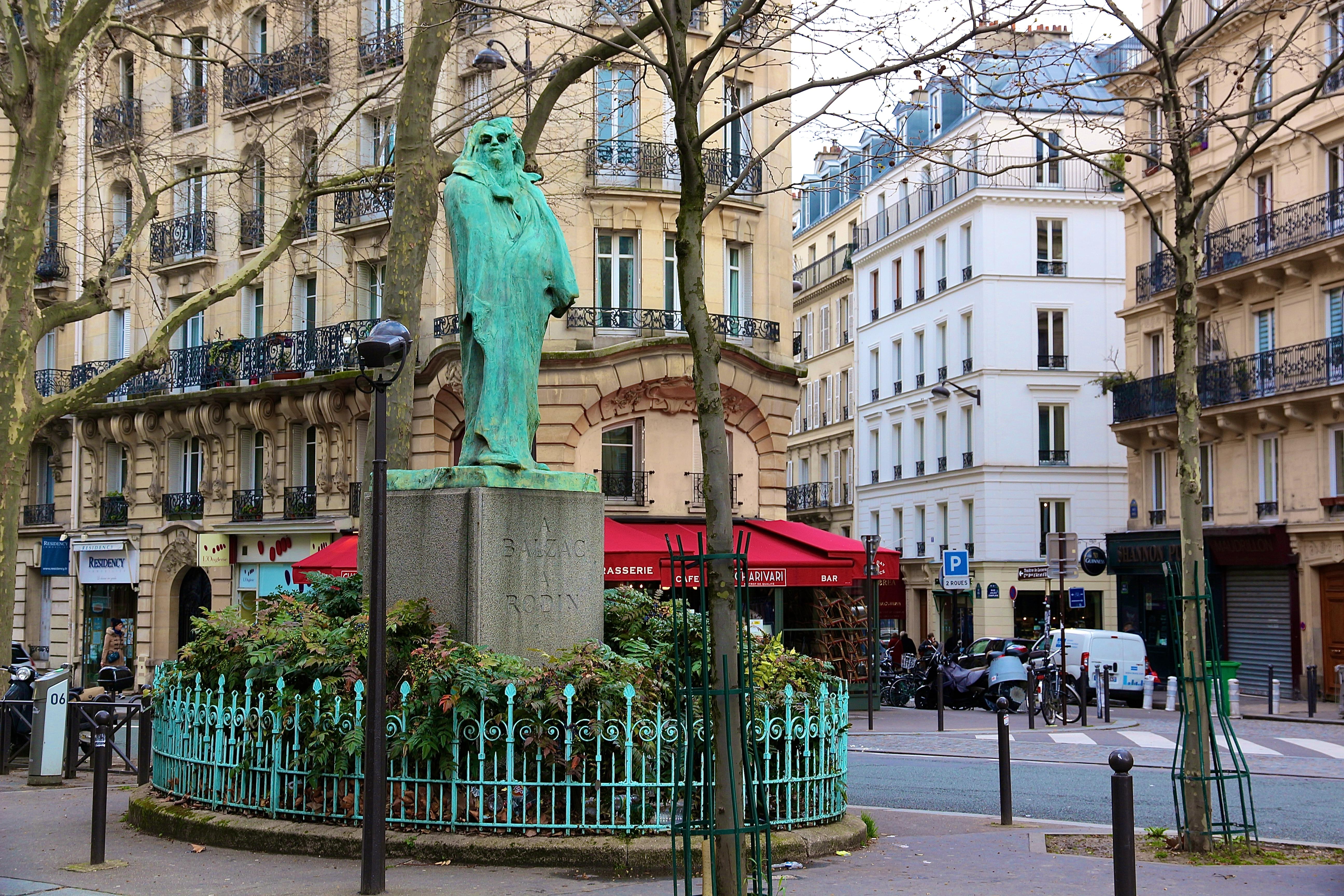 le Monument à Balzac
