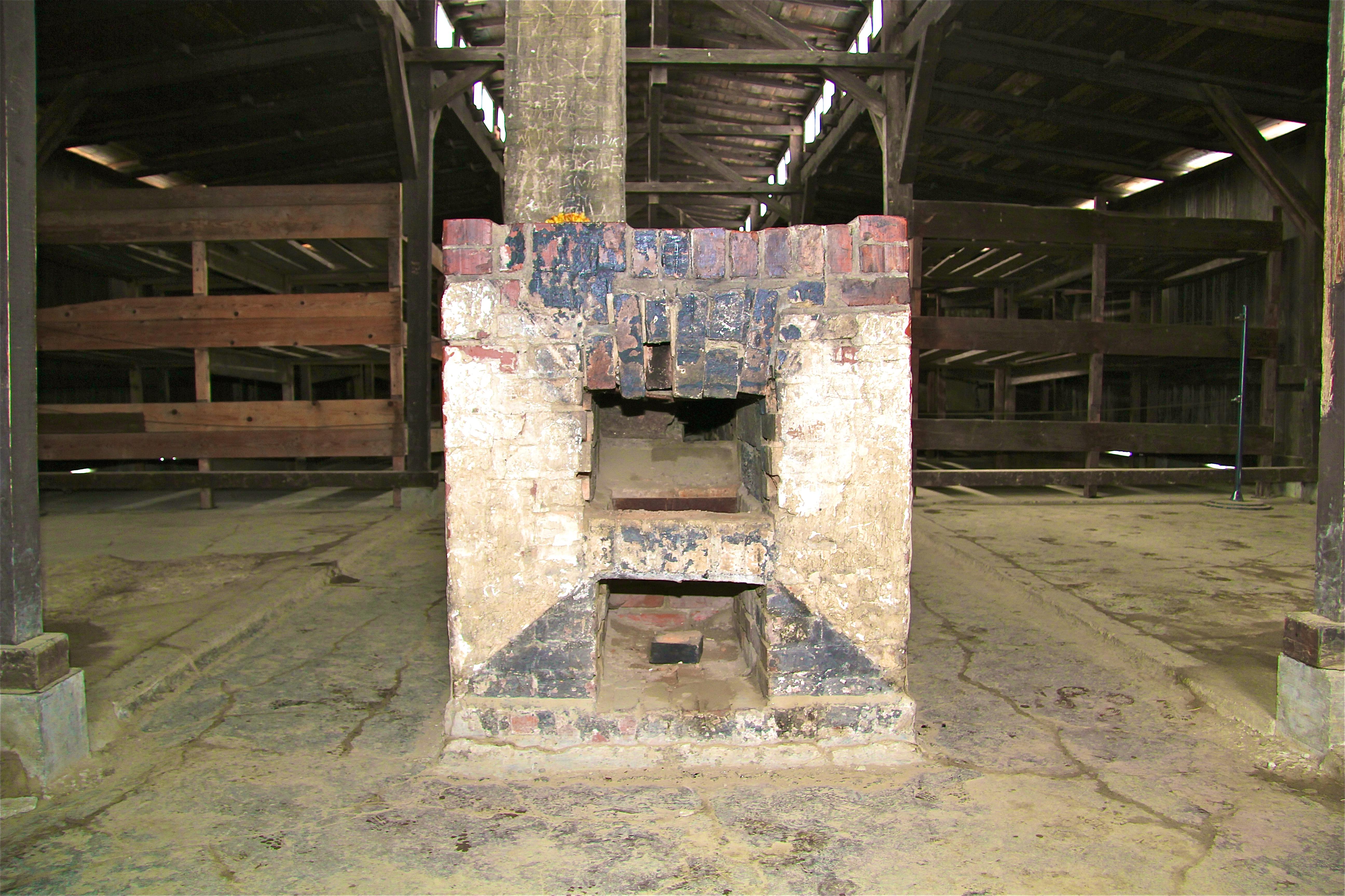 Birkenau, les baraques des hommes