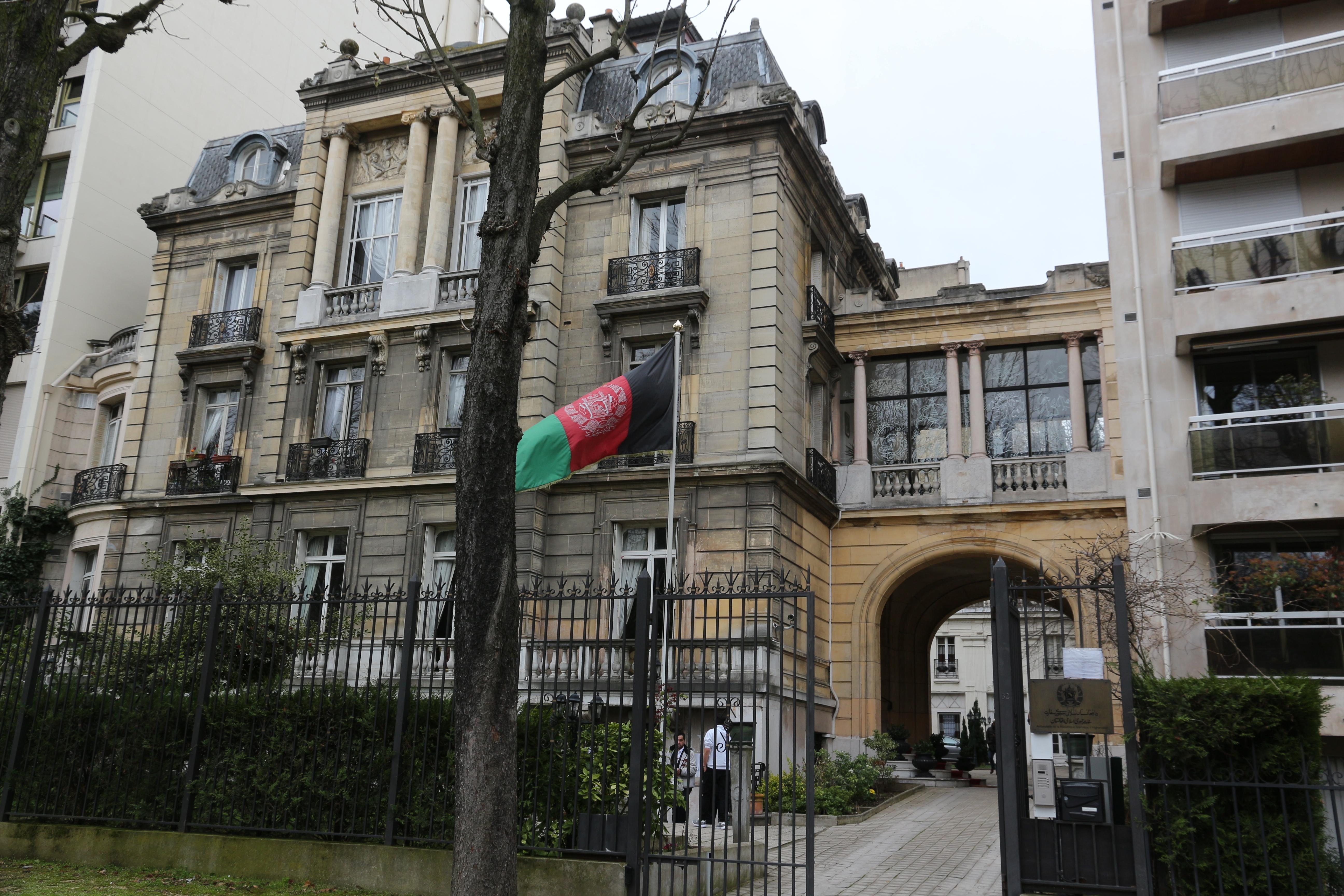 l'ambassade d'Afghanistan