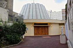 l'église Notre-Dame-de-la-Salette