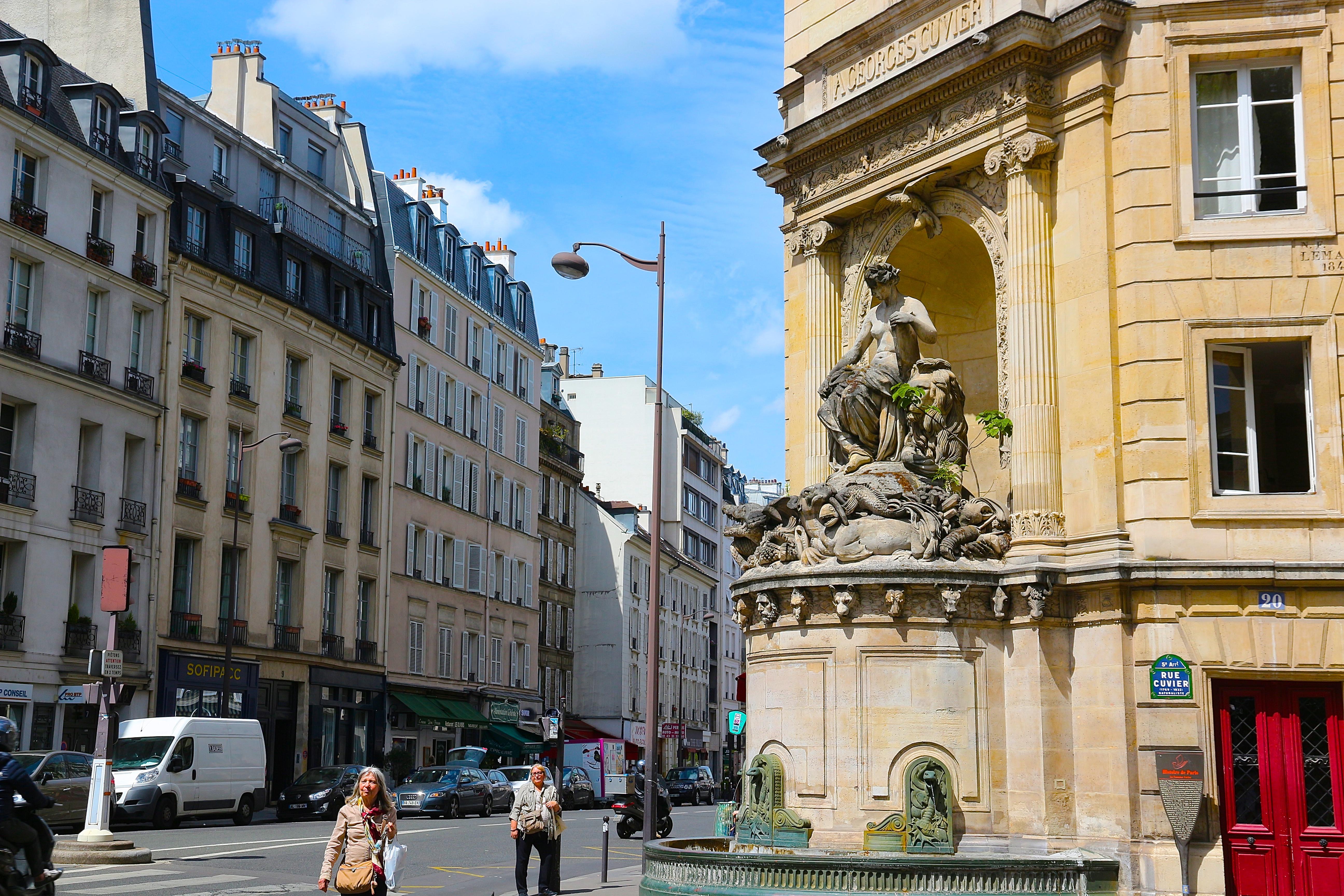 la Fontaine Cuvier