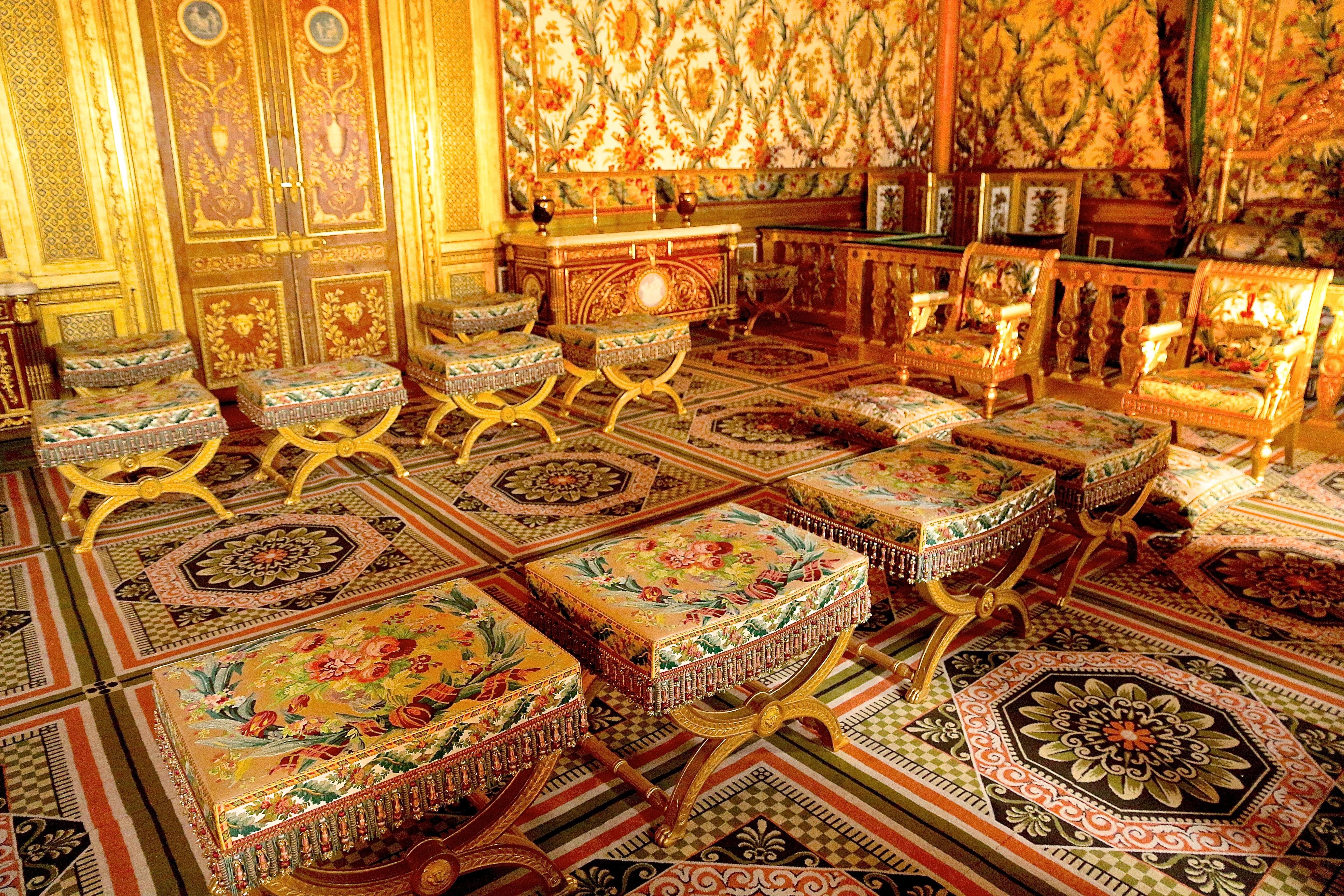 la chambre de l'Impératrice