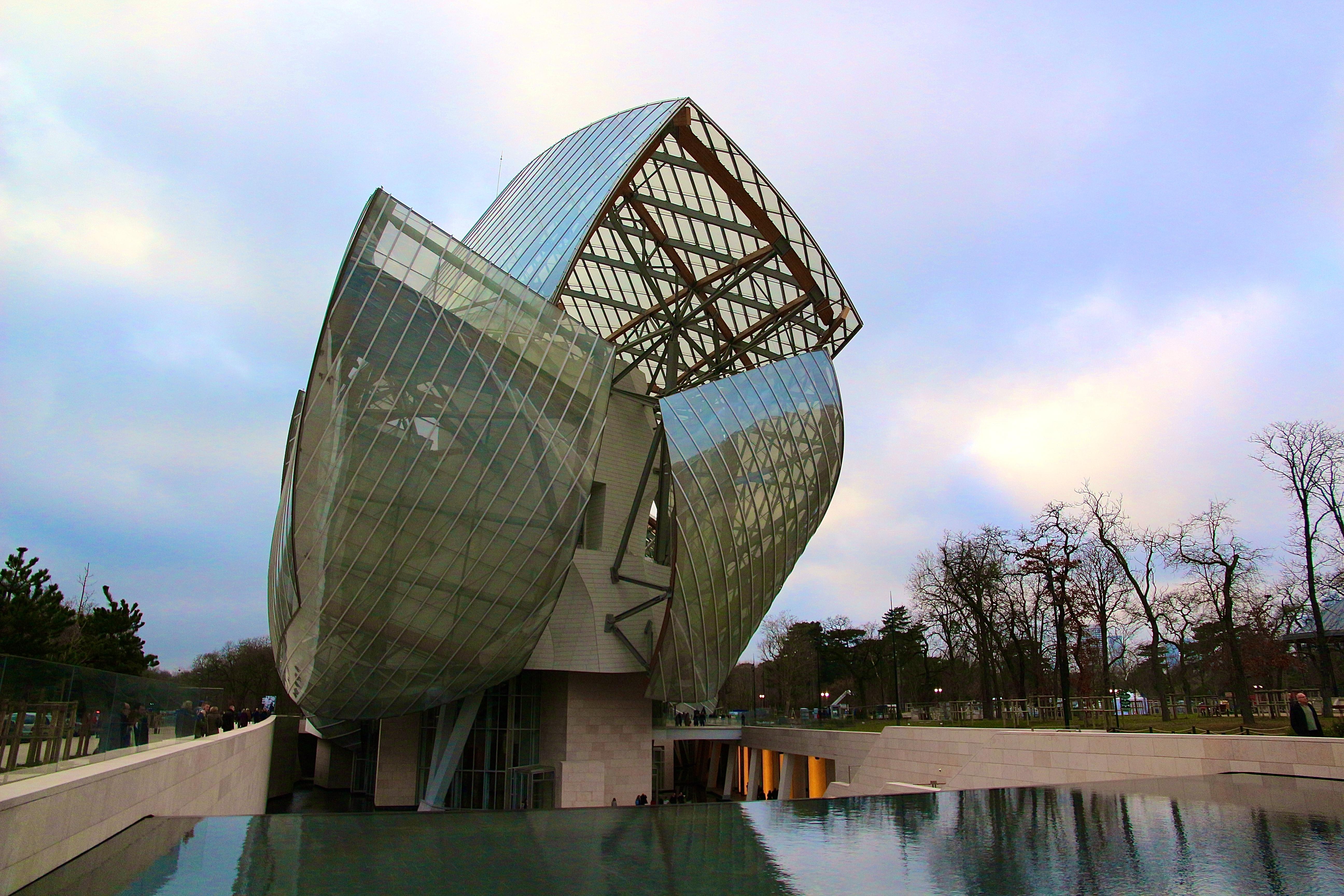 📸 la Fondation Louis Vuitton