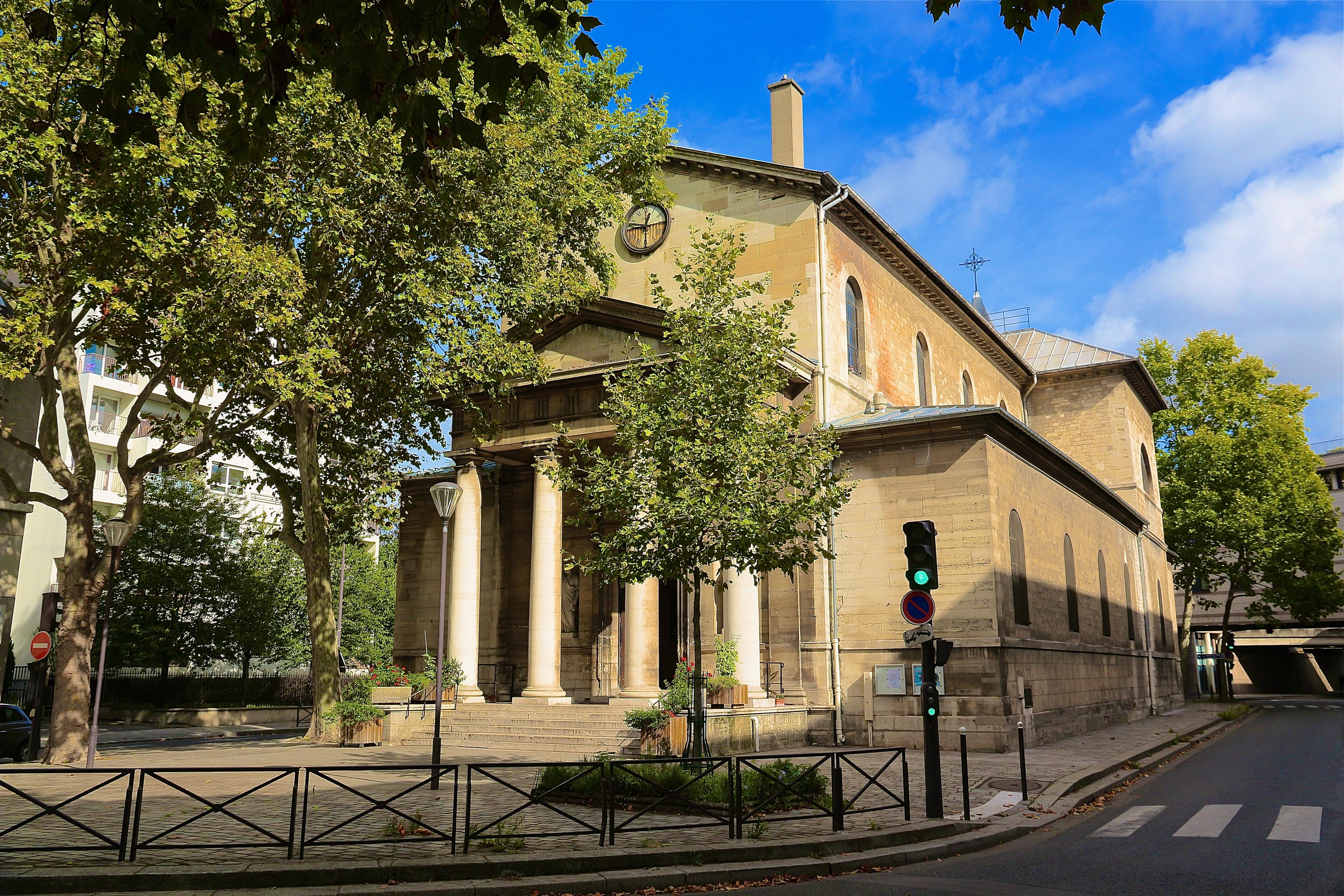 l'église Notre-Dame-de-Bercy