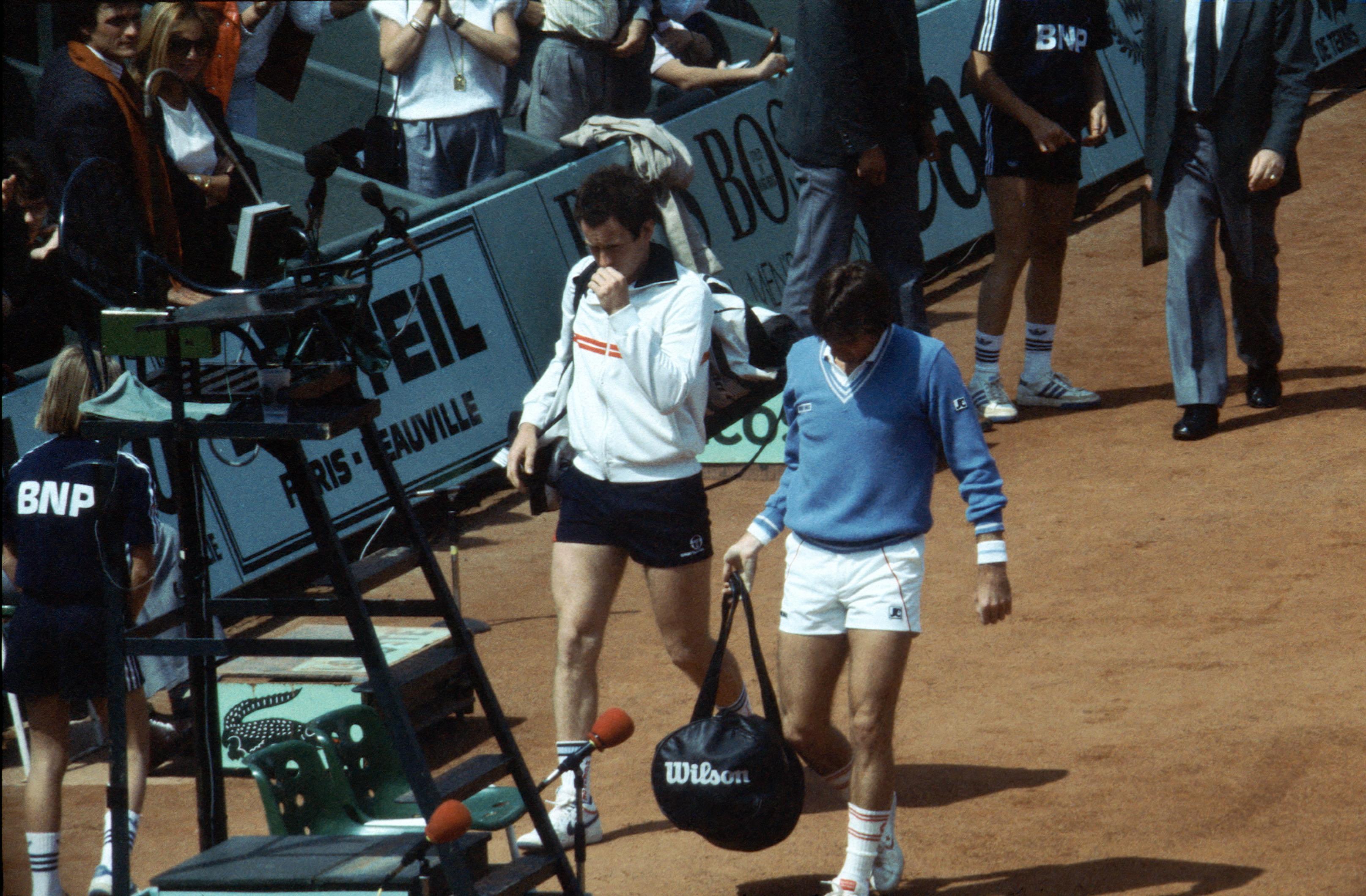 Jimmy Connors et John McEnroe