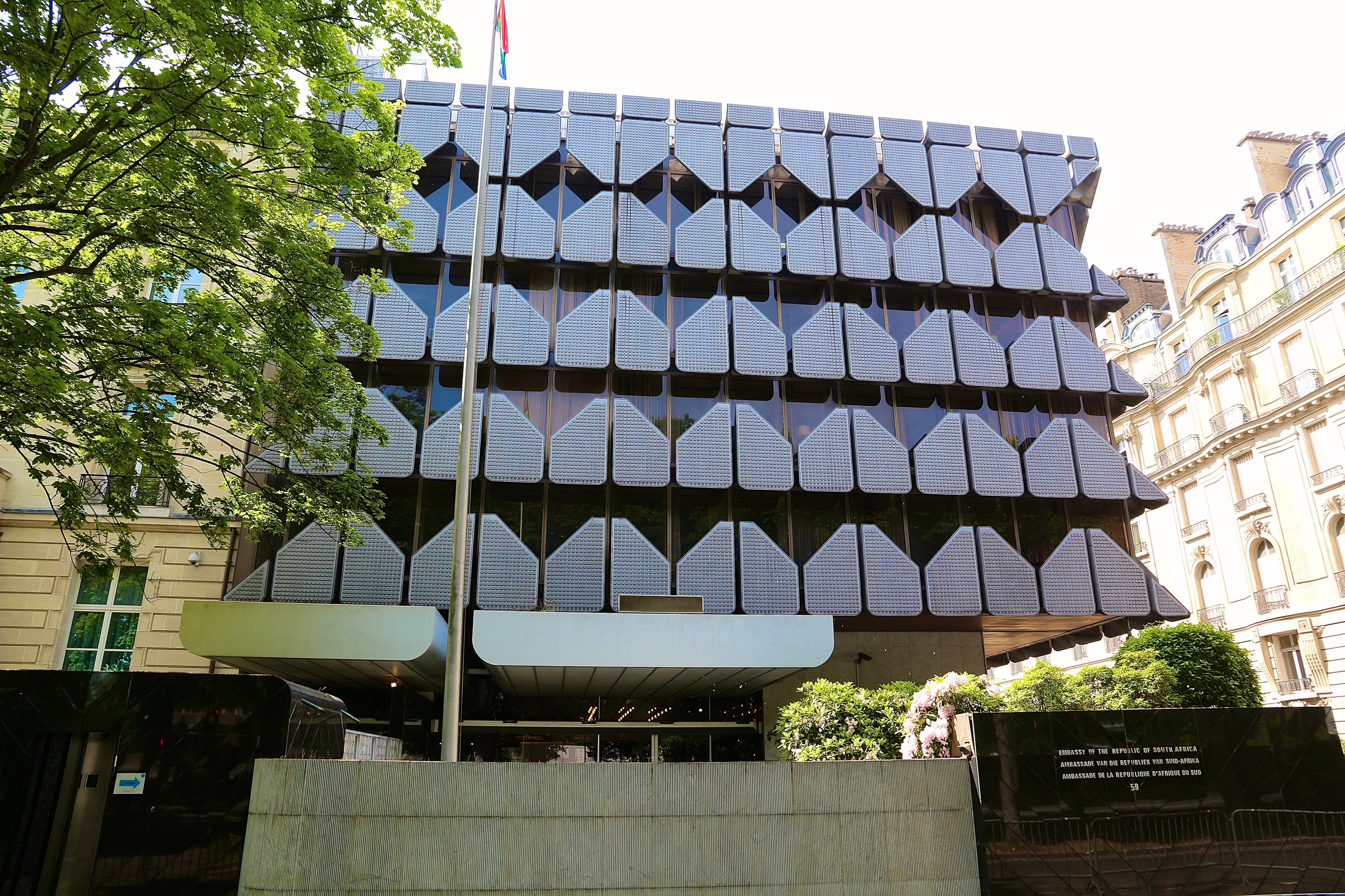 l'ambassade d'Afrique du Sud