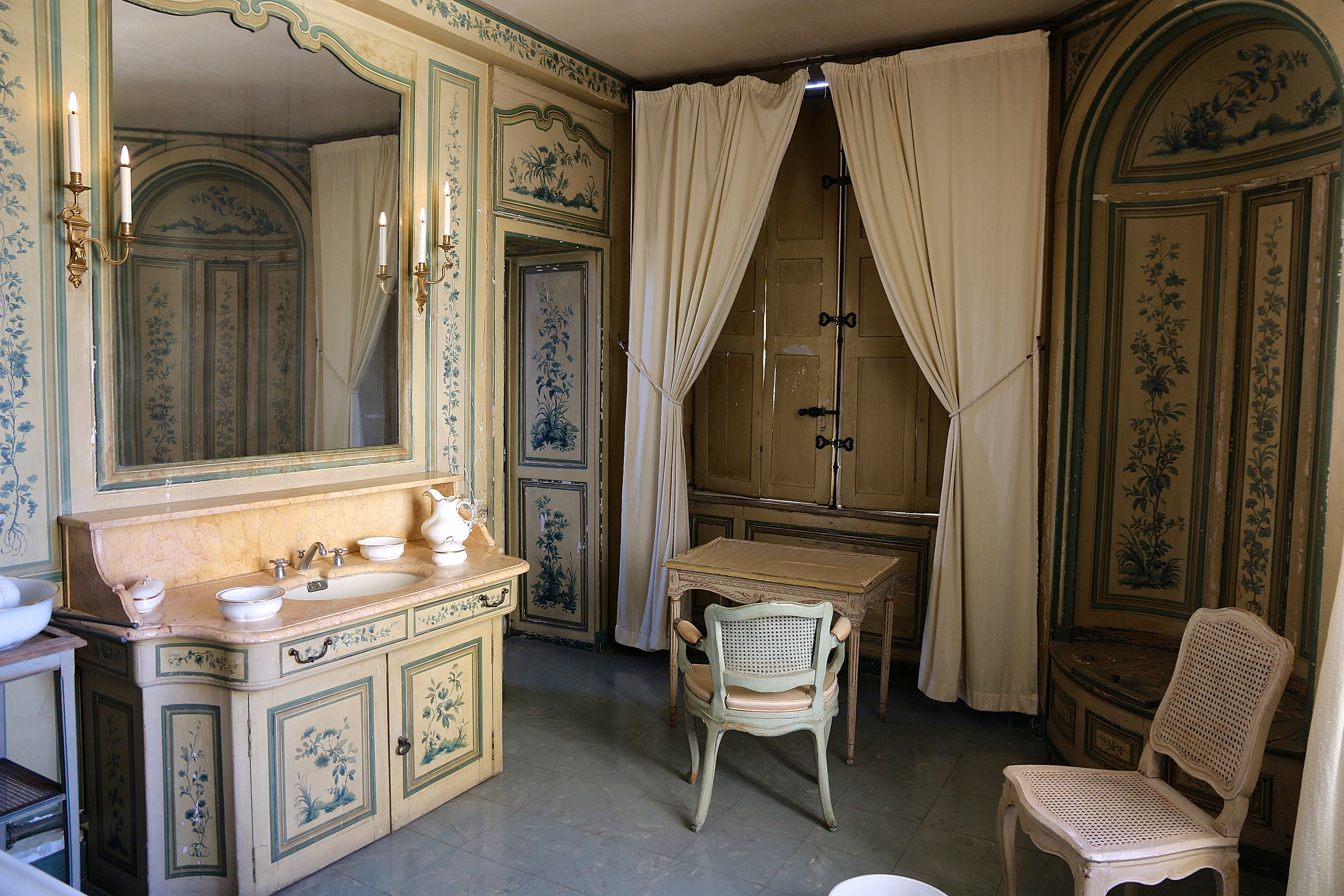 la salle de bains de Madame