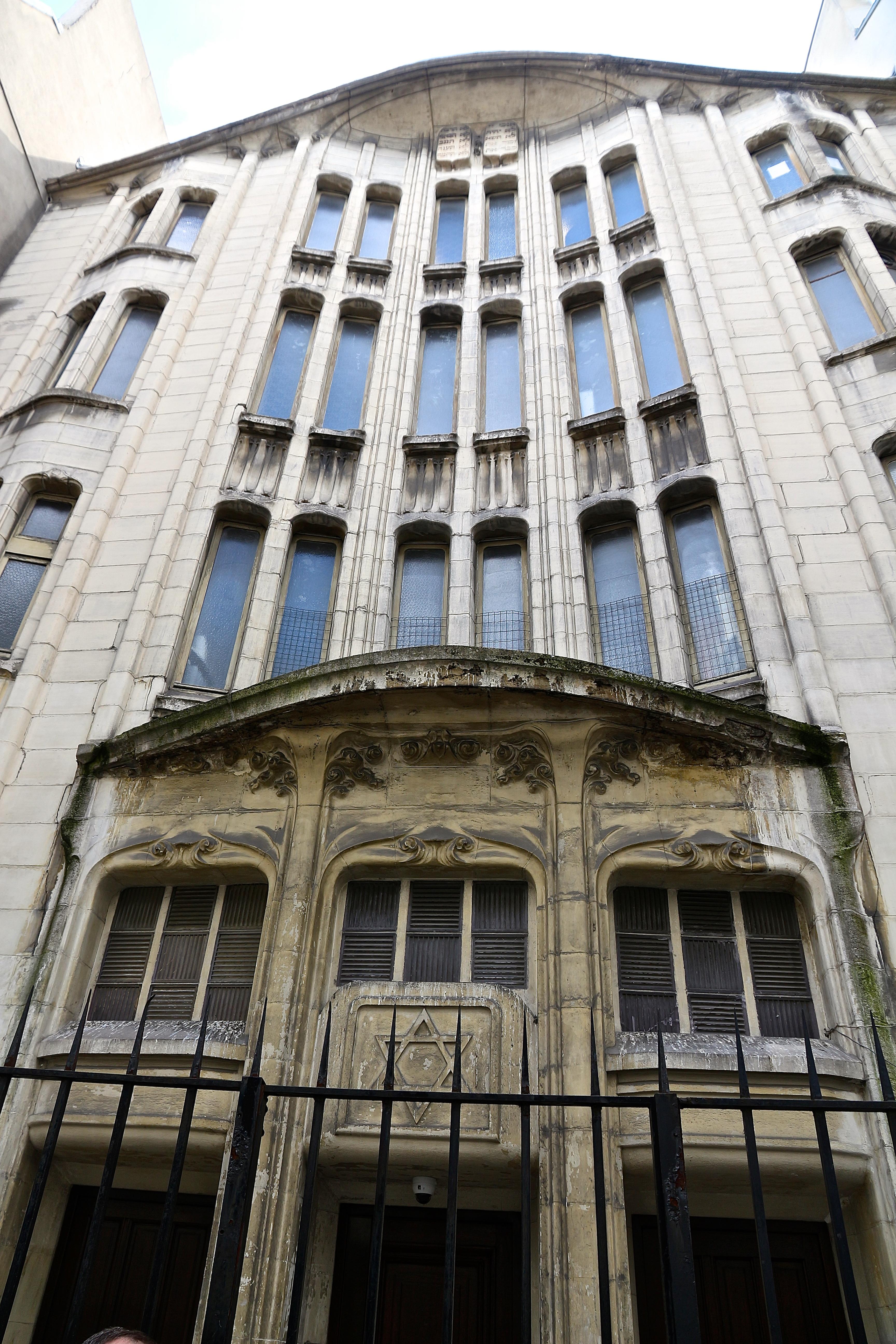la synagogue Guimard