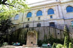 la fontaine du square Paul-Langevin