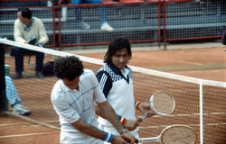 José Luis Clerc et Ilie Nastase