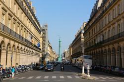 la rue de Castiglione