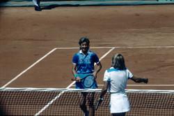 Martina Navratilova et Chris Evert