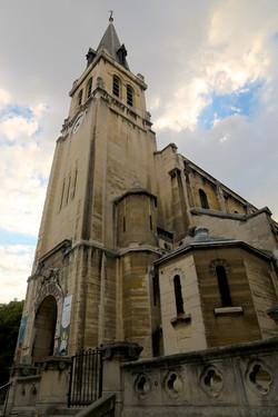l'église Saint-Lambert-de-Vaugirard