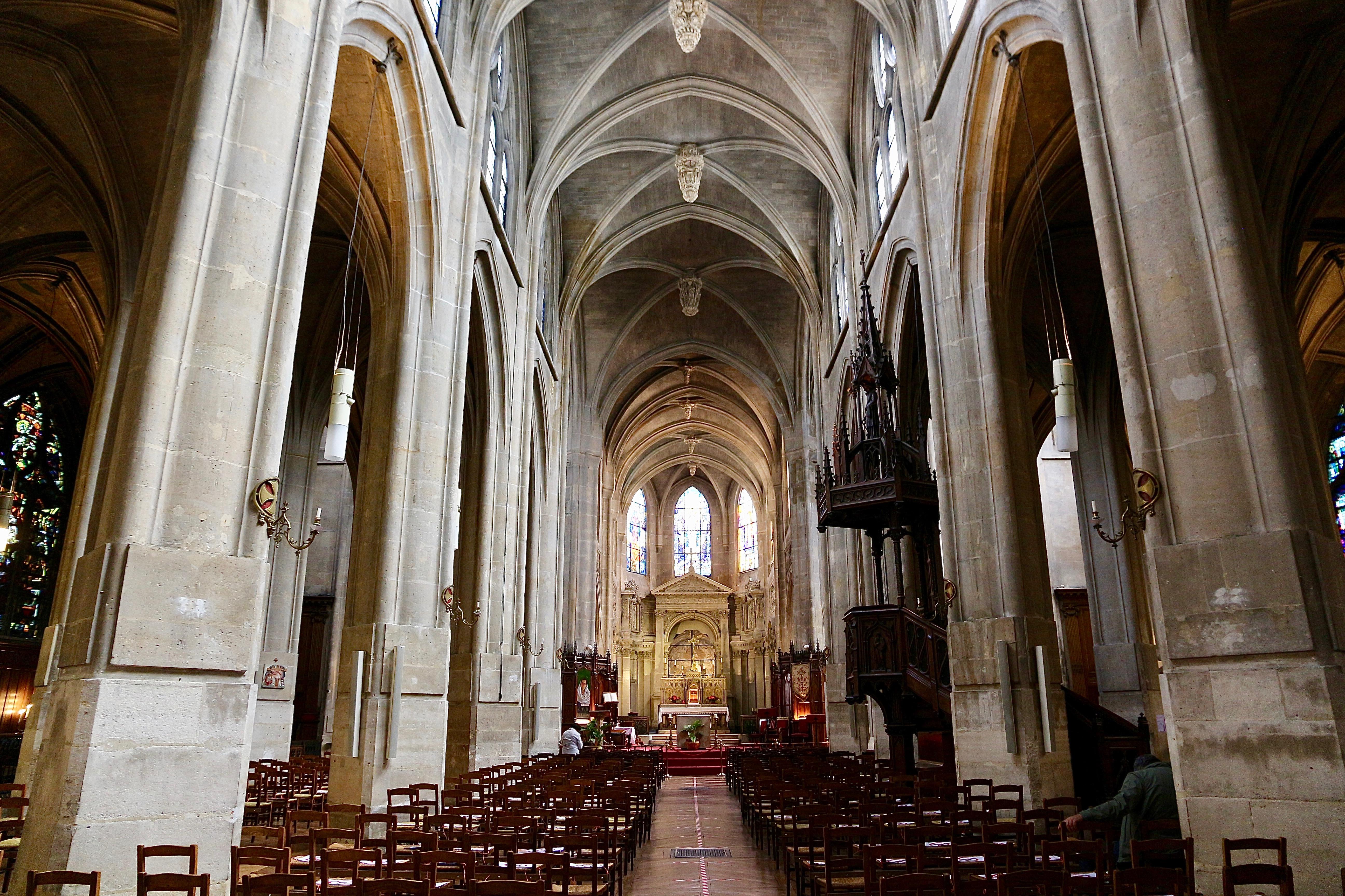 l'église Saint-Laurent