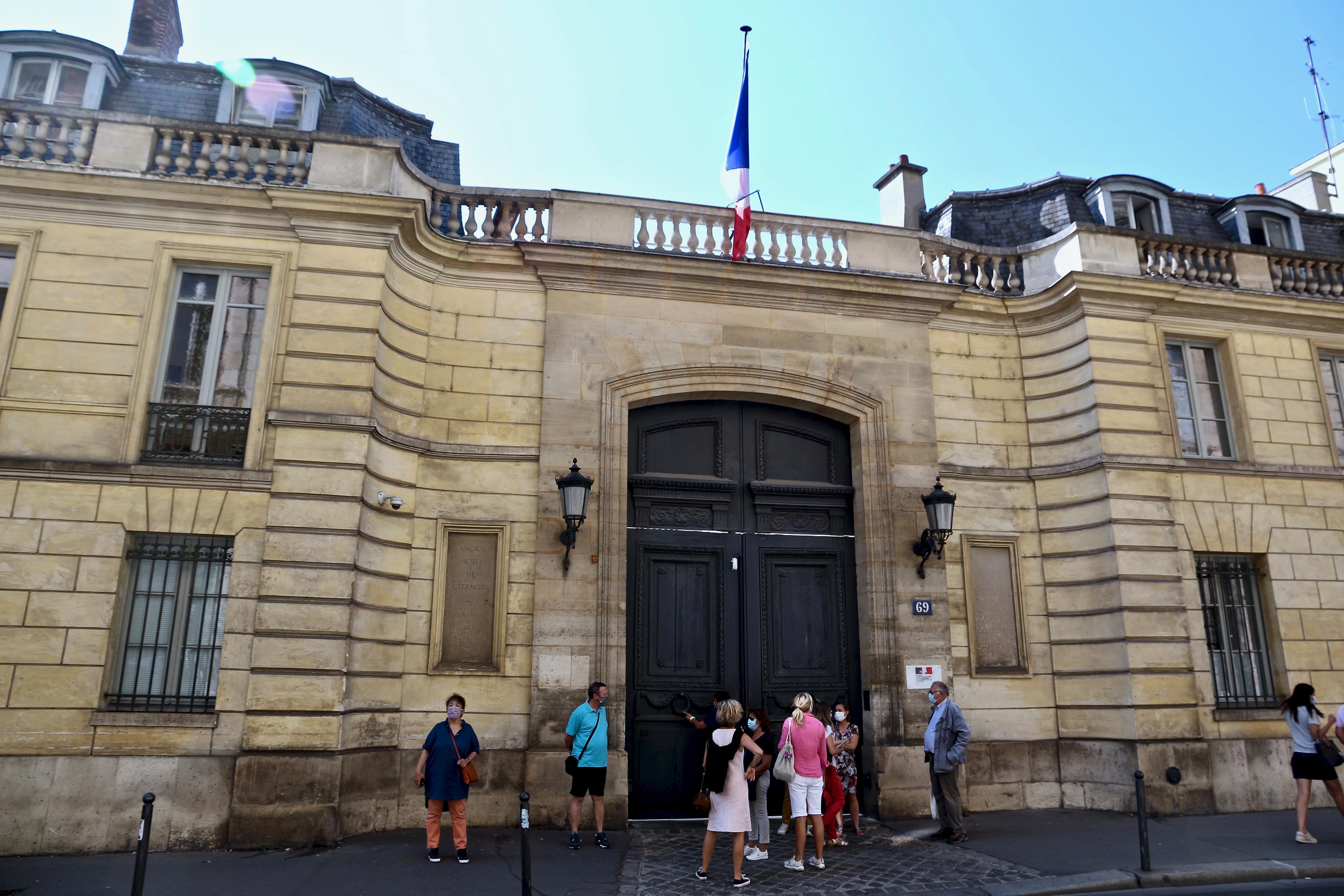 l'hôtel de Clermont
