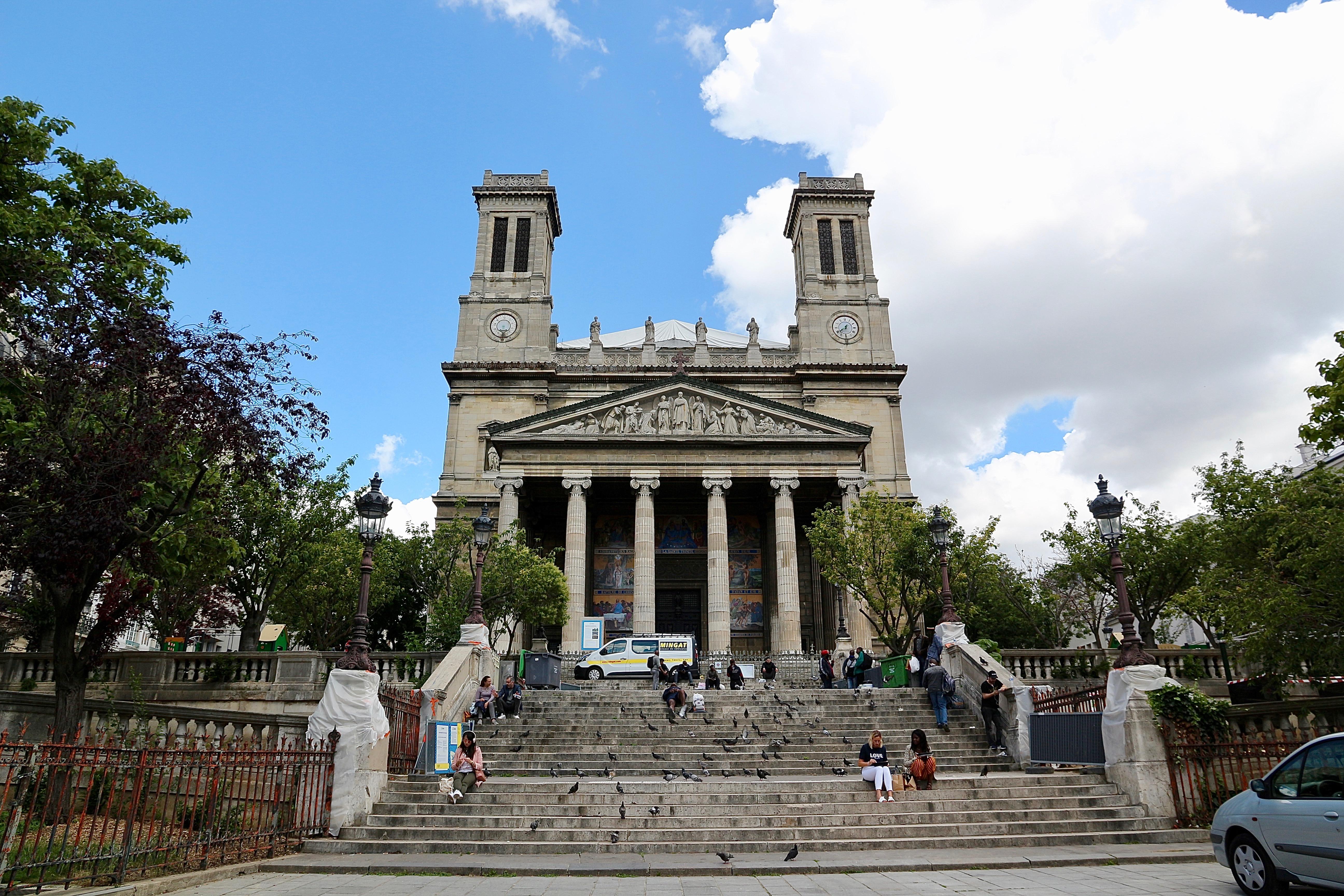 l'église Saint-Vincent-de-Paul