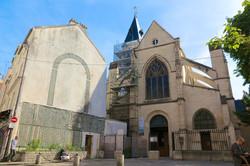 l'église Saint-Médard