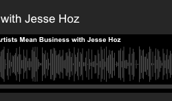 "Check out the podcast I did for ""Artists Mean Business"" on being a creative entrepreneur"