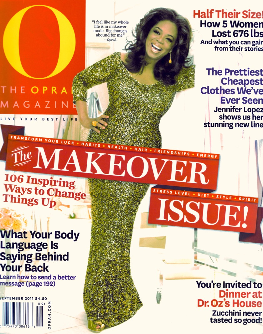O'MAG HAIR TIMEWARP MAKEOVER COVERPAGE