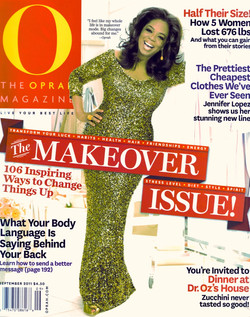 O'MAG HAIR TIMEWARP MAKEOVER COVERPAGE