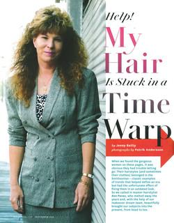 O'MAG HAIR TIMEWARP MAKEOVER P1